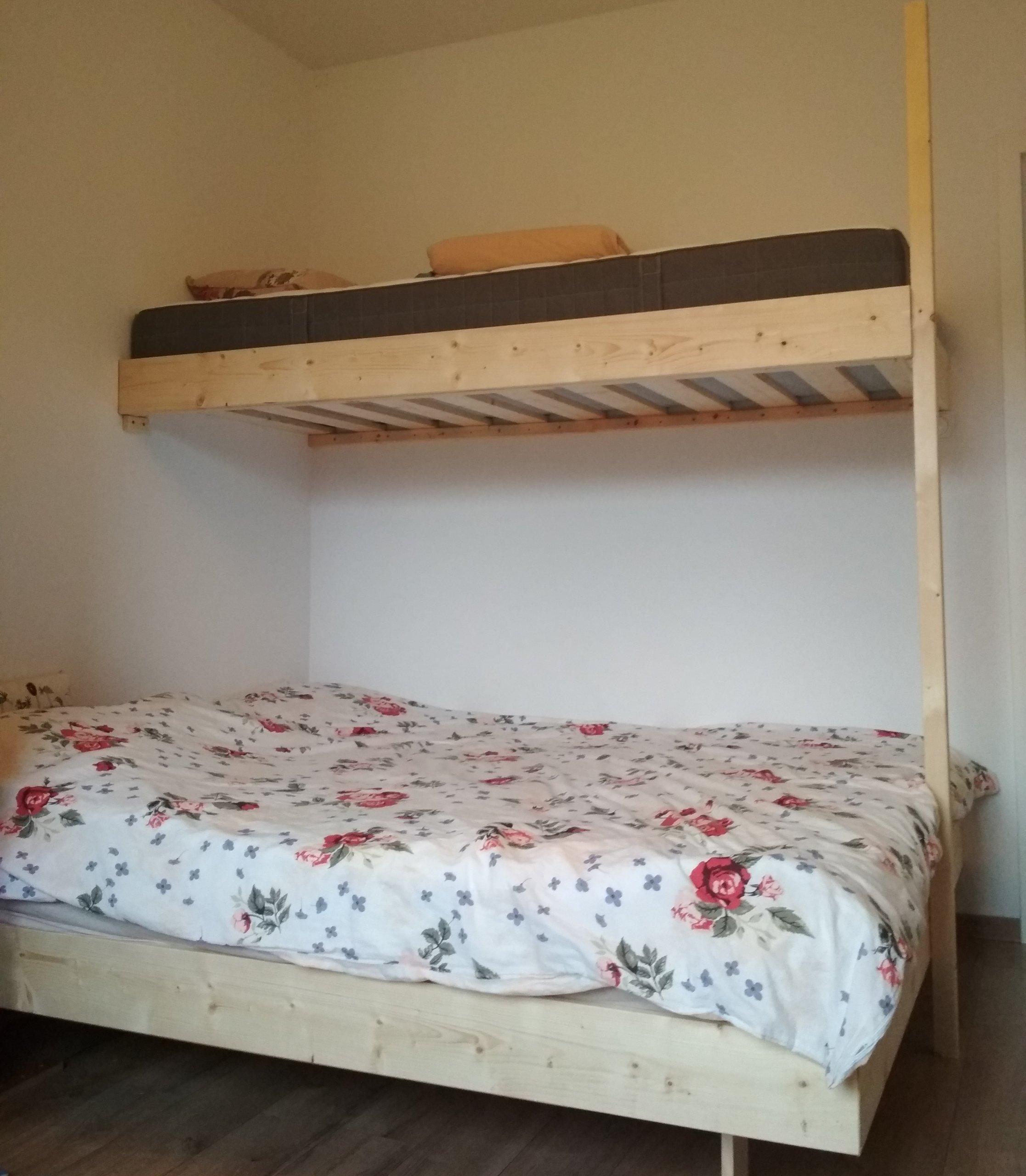 łóżko Piętrowe Antresola Na Zamówienie Drewno 100