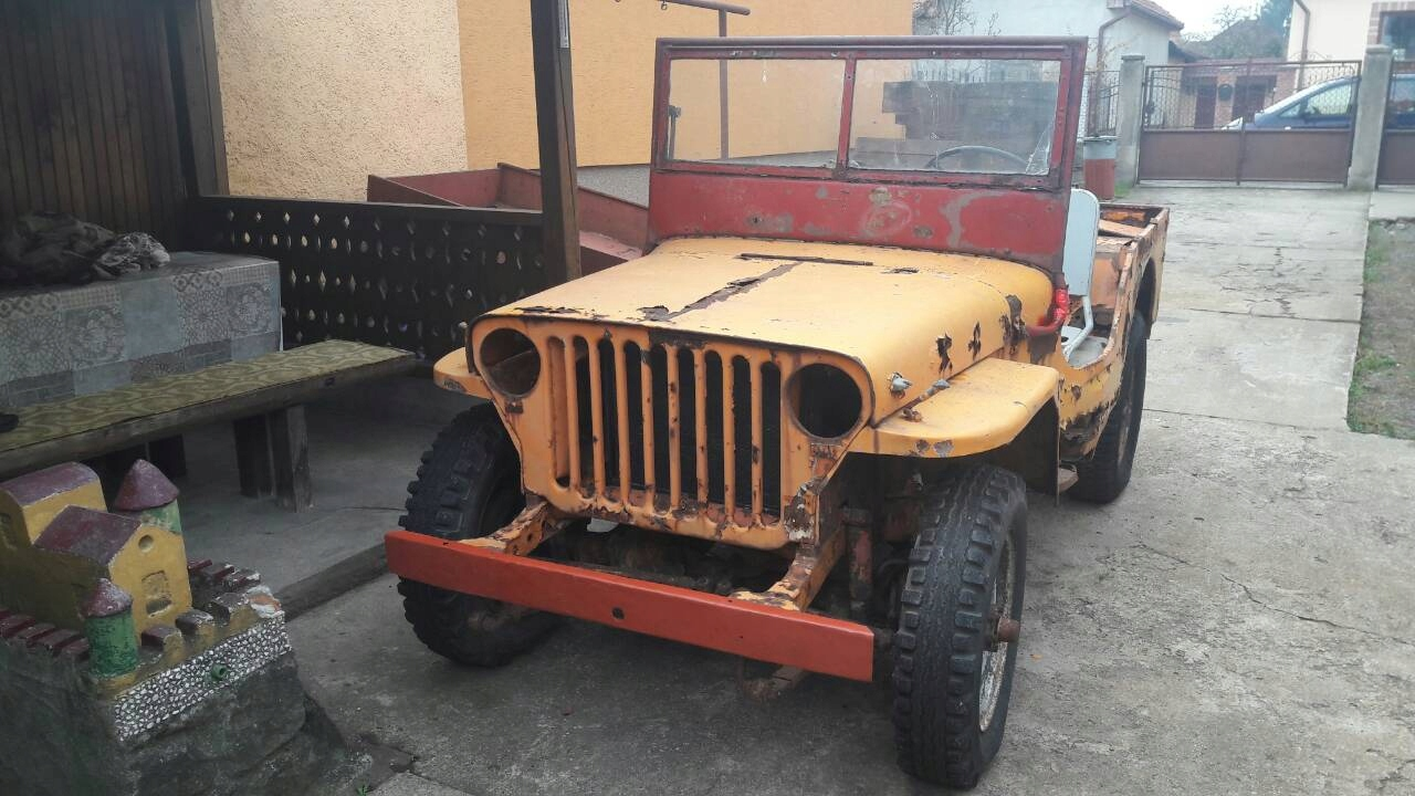 jeep willys 42 ,44