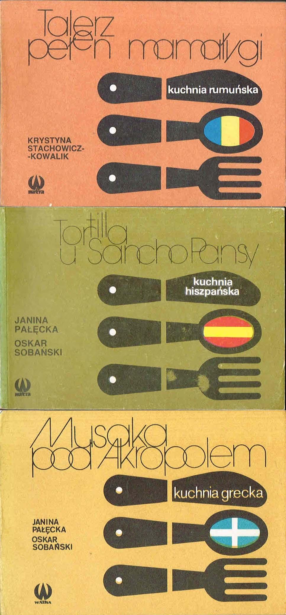 Kuchnie Roznych Narodow X3 Rumunska Hiszpanska 7434938509
