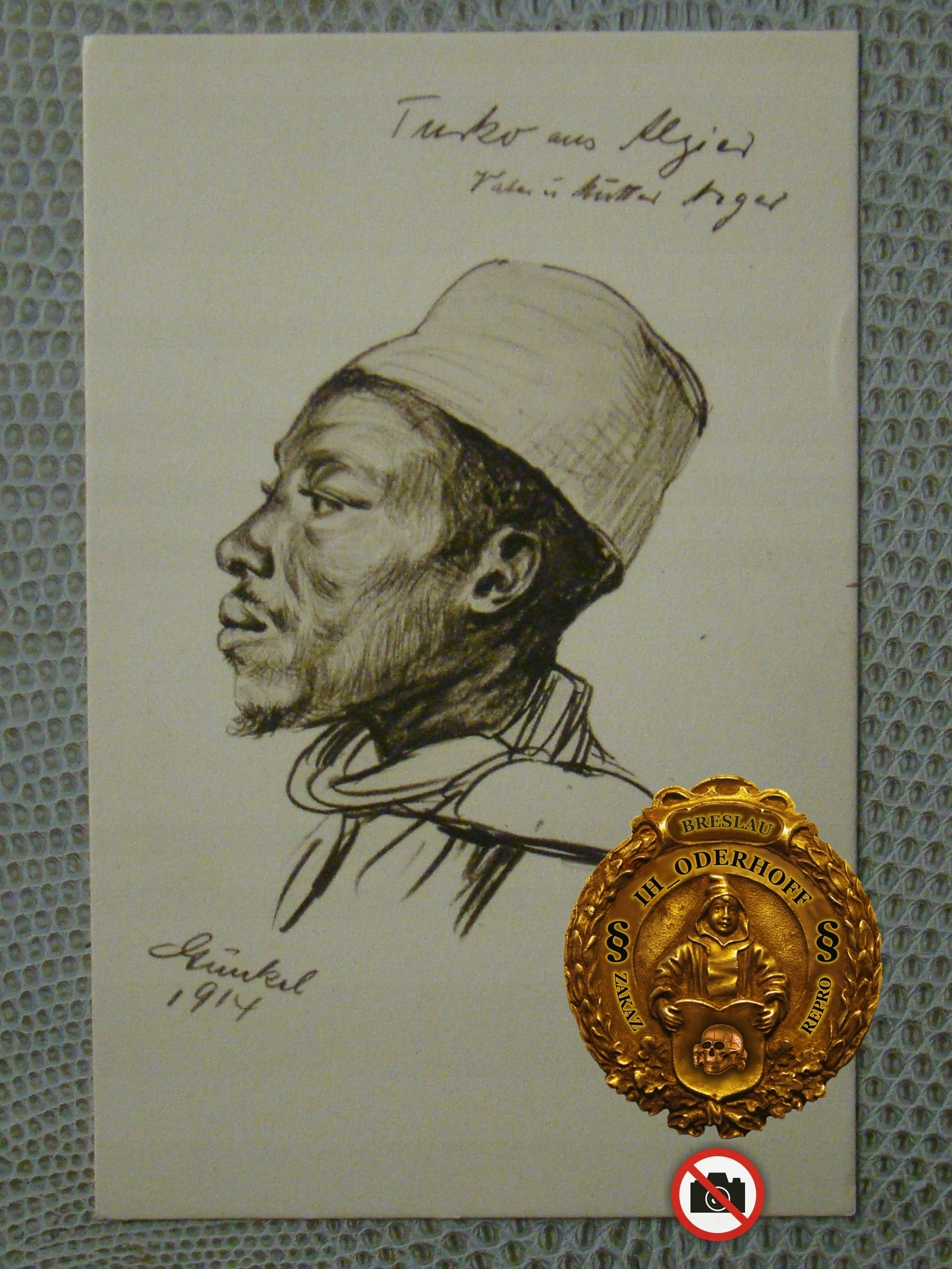 Algerie 1914.r. Etno Lux,B6899