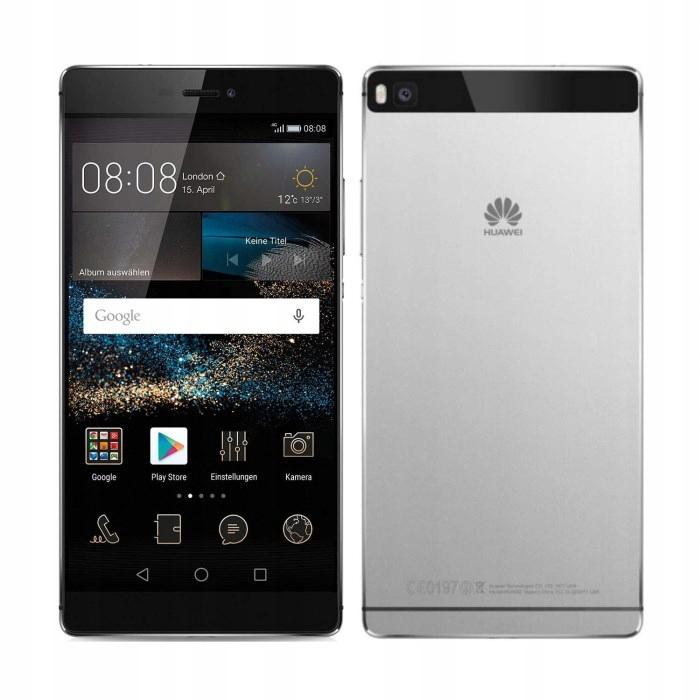 Smartfon Huawei P8 srebrny 16 GB METALOWY