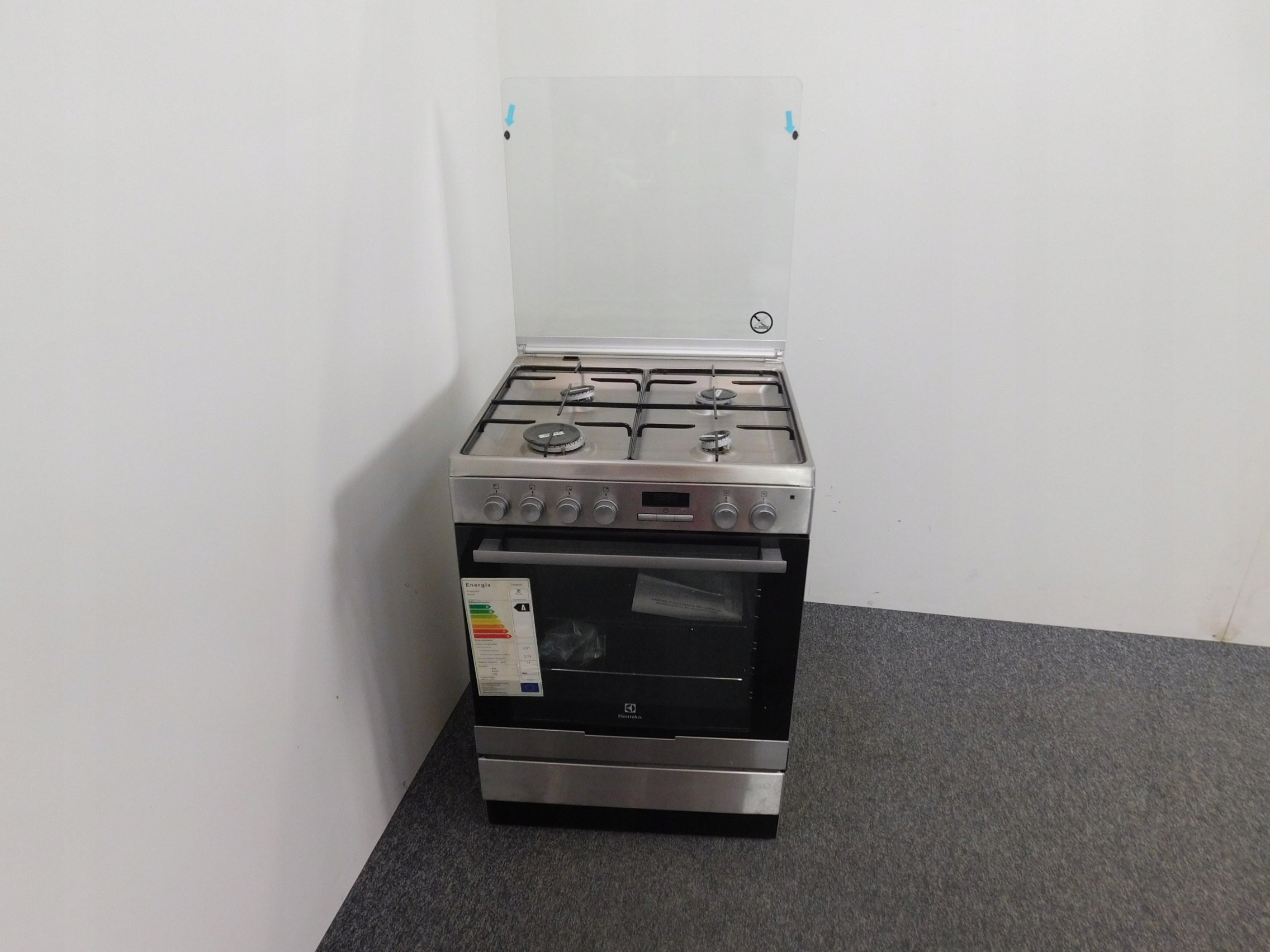 Kuchnia Gazowo Elektryczna Electrolux Ekk6450aox 7300805482