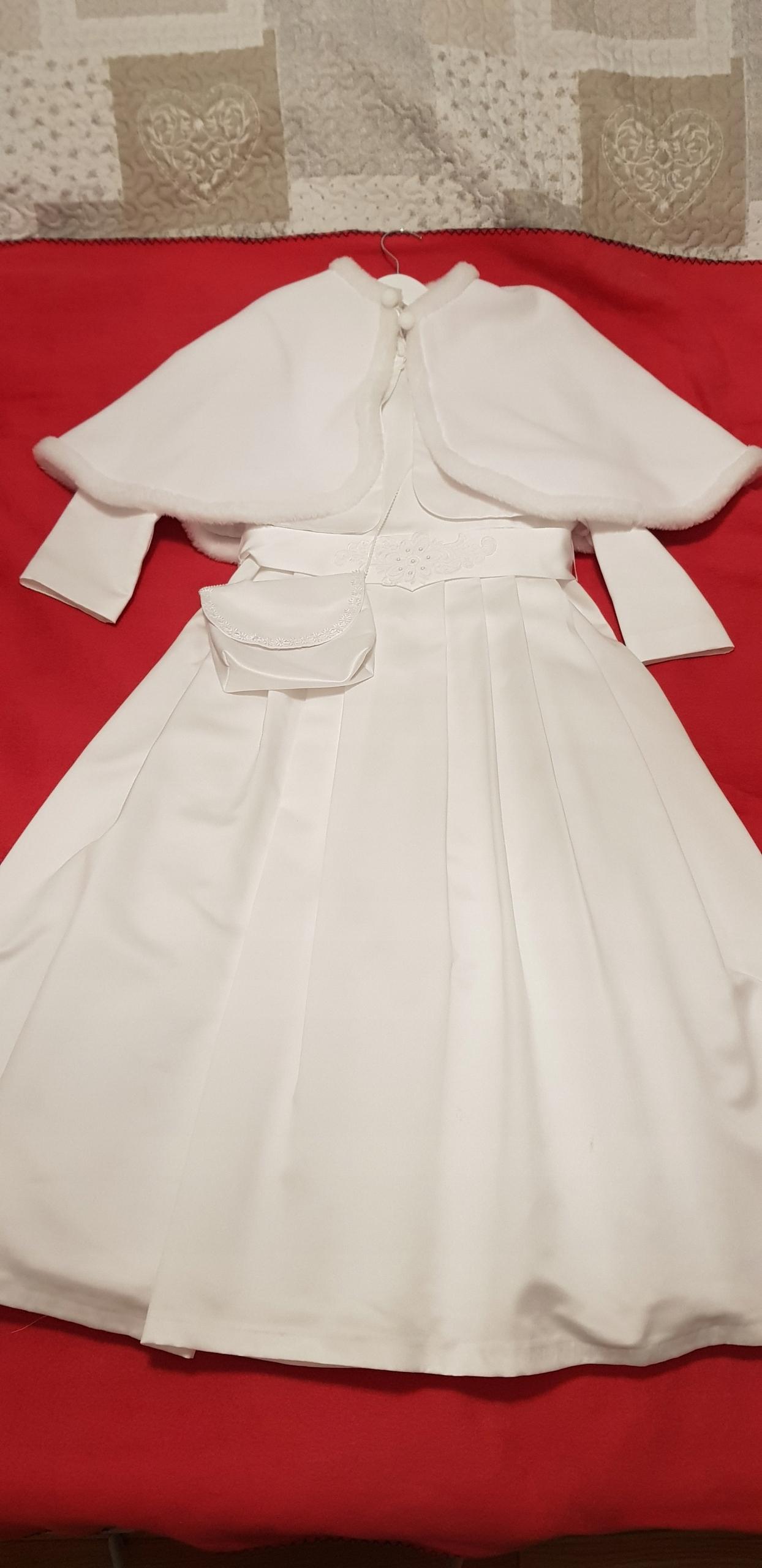 eba2126252 Sukienka komunijna 146 152 cm - 7657697171 - oficjalne archiwum allegro