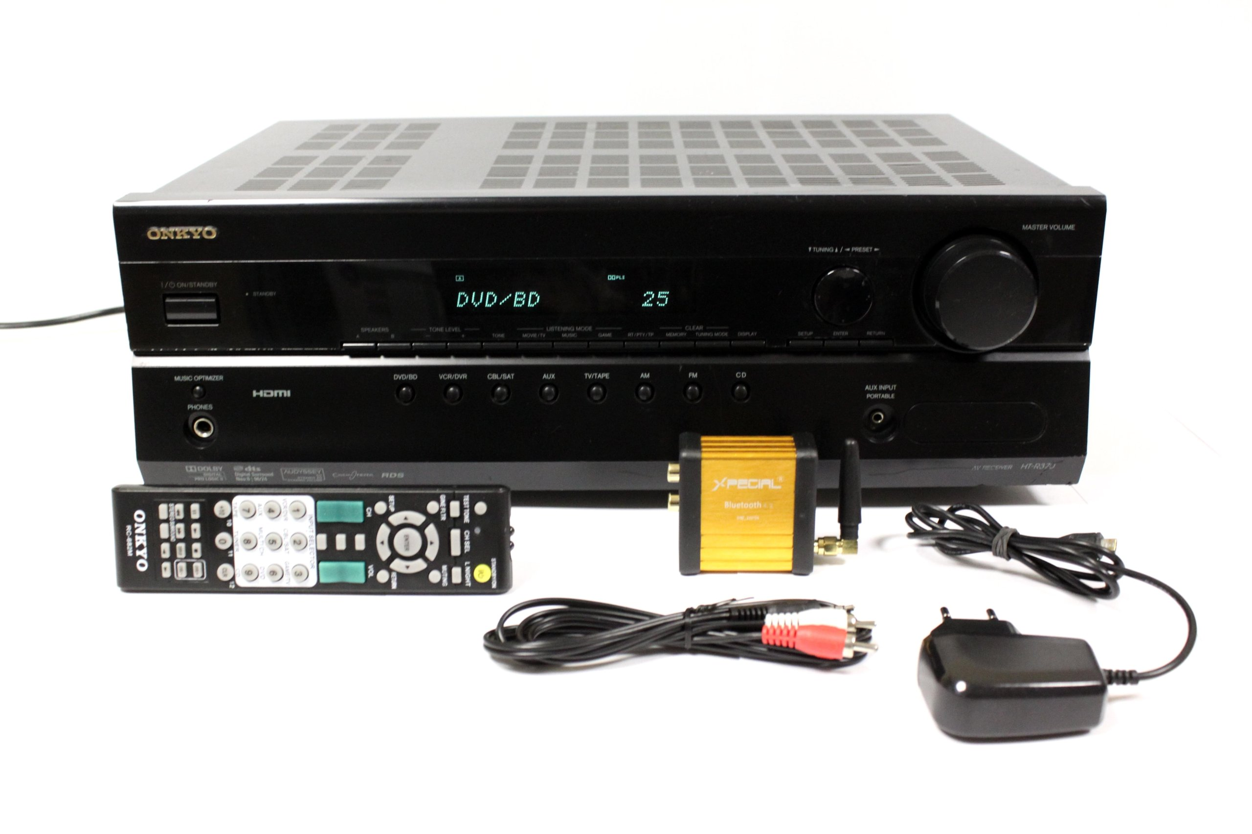 Amplituner 5.1 Onkyo HT R370 HDMI PILOT BLUETOOTH