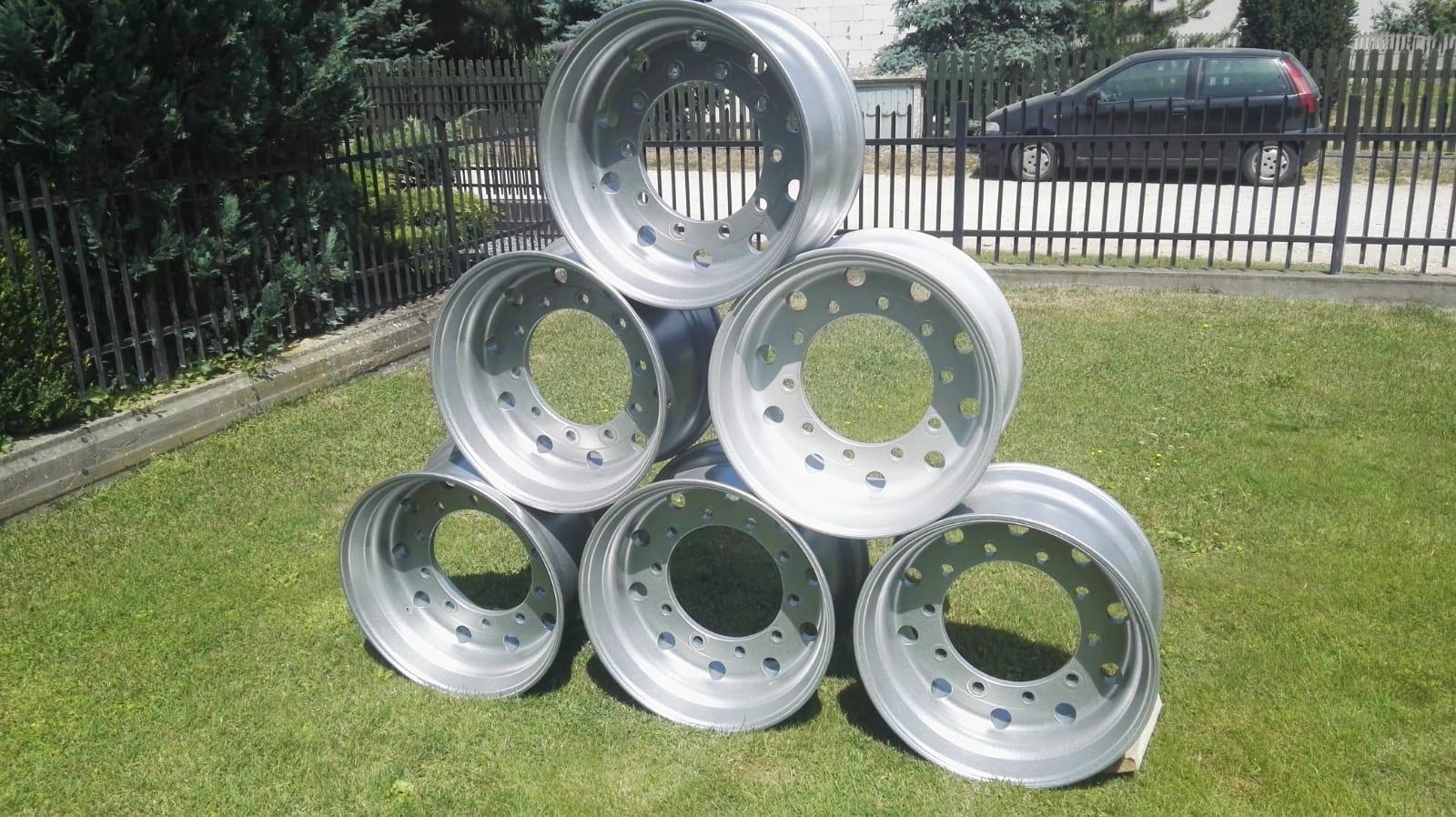 Felgi Aluminiowe Do Naczepy 7606811460 Oficjalne Archiwum Allegro