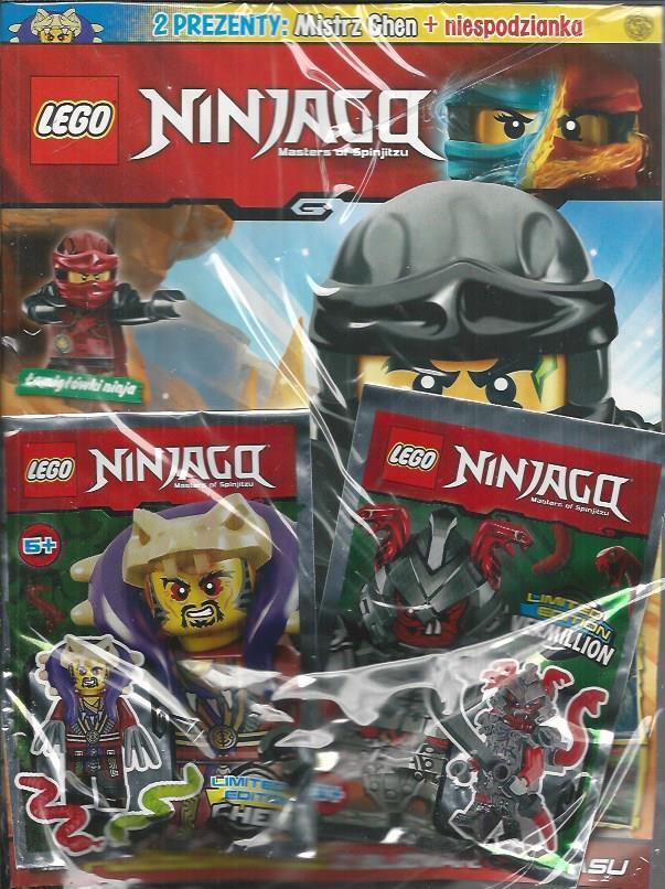 Lego Ninjago Magazyn Nr 1217 Figurka Mistrz Chen 7144087846