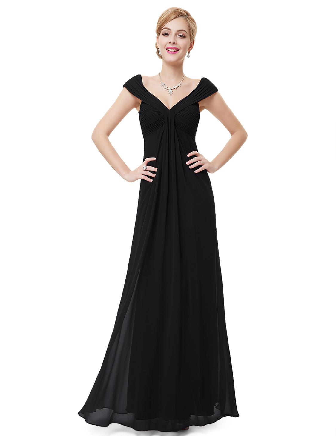 3126fedaa7 Ever Pretty Elegancka Długa Sukienka z Szyfonu 44 - 7350940498 ...