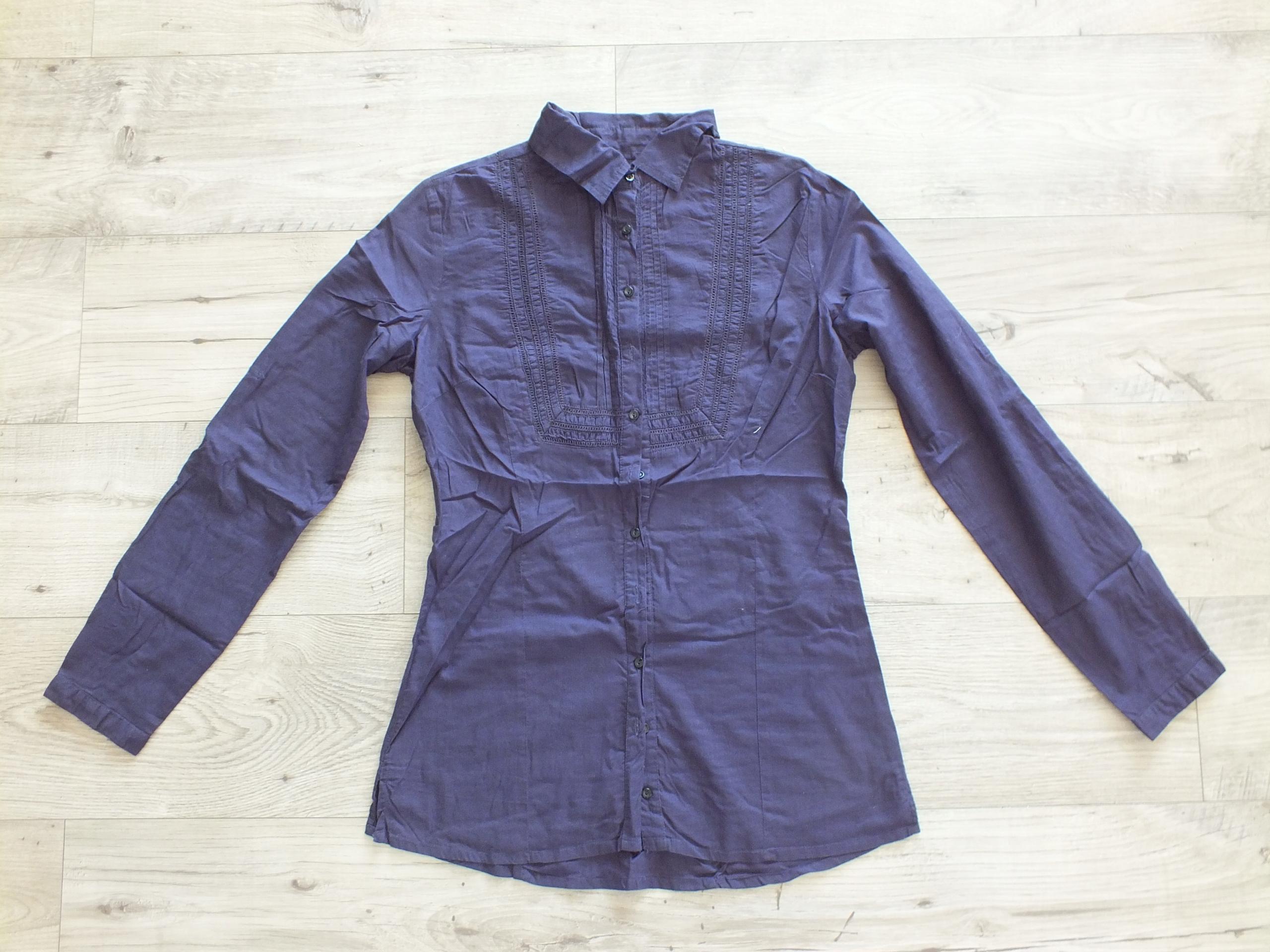 2ba36865 Koszula fioletowa Reserved rozm. 36 - 7655326833 - oficjalne ...