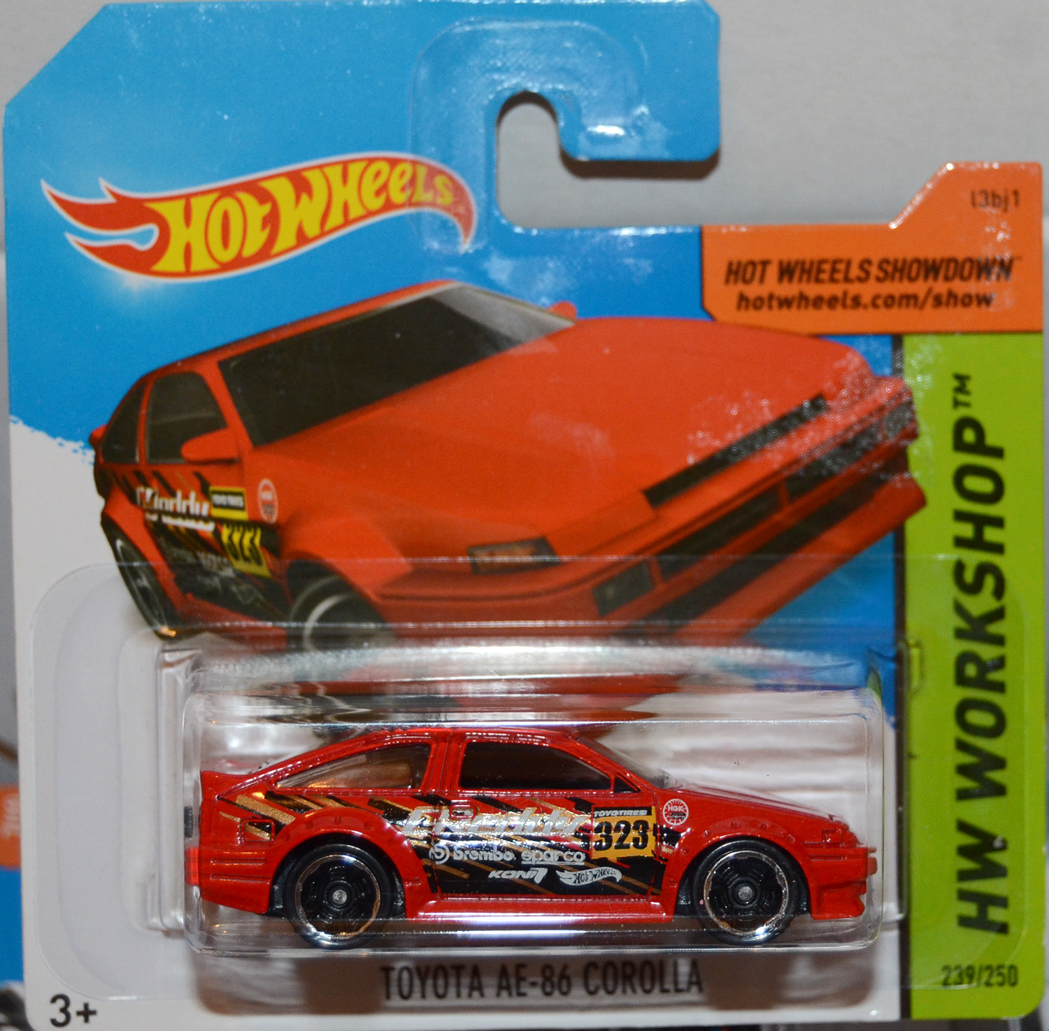 Hotwheels Toyota Ae 86 Corolla Red Hot Wheels Drift Race Jdm 7071164696