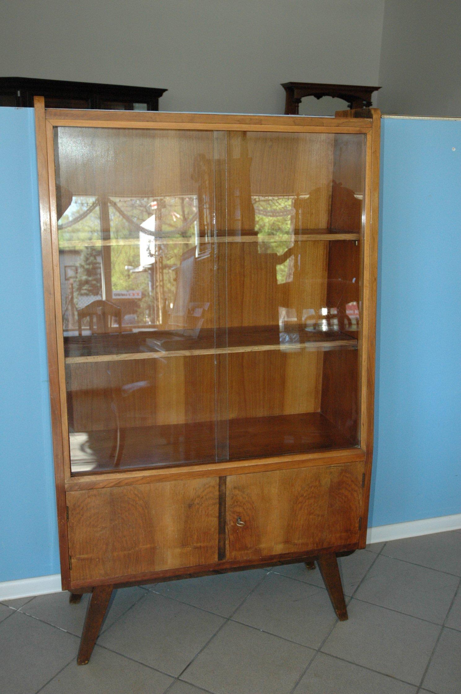 Biblioteczka Trapezowa Prl 1966 7306188638 Oficjalne Archiwum