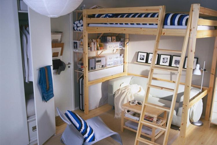 łóżko Piętroweantresola Ikea 140x200