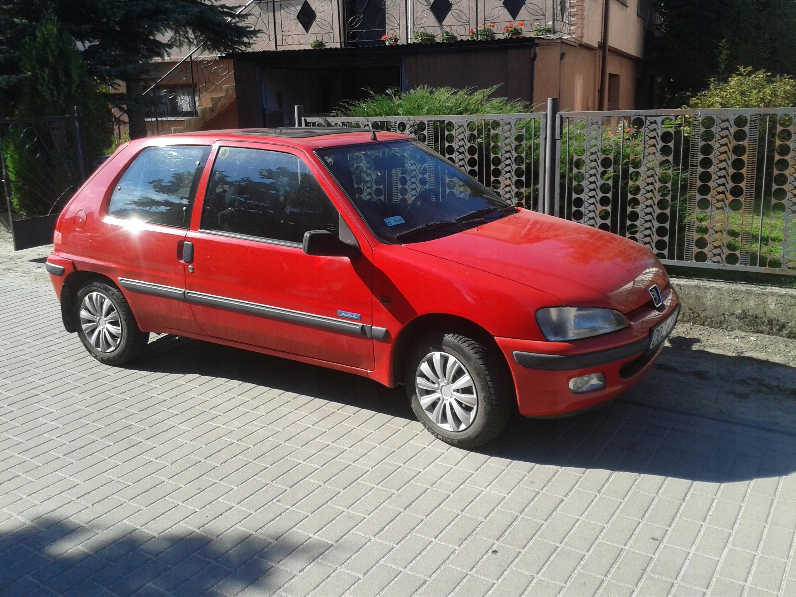 Samochód osobowy PEUGEOT 106 1999r