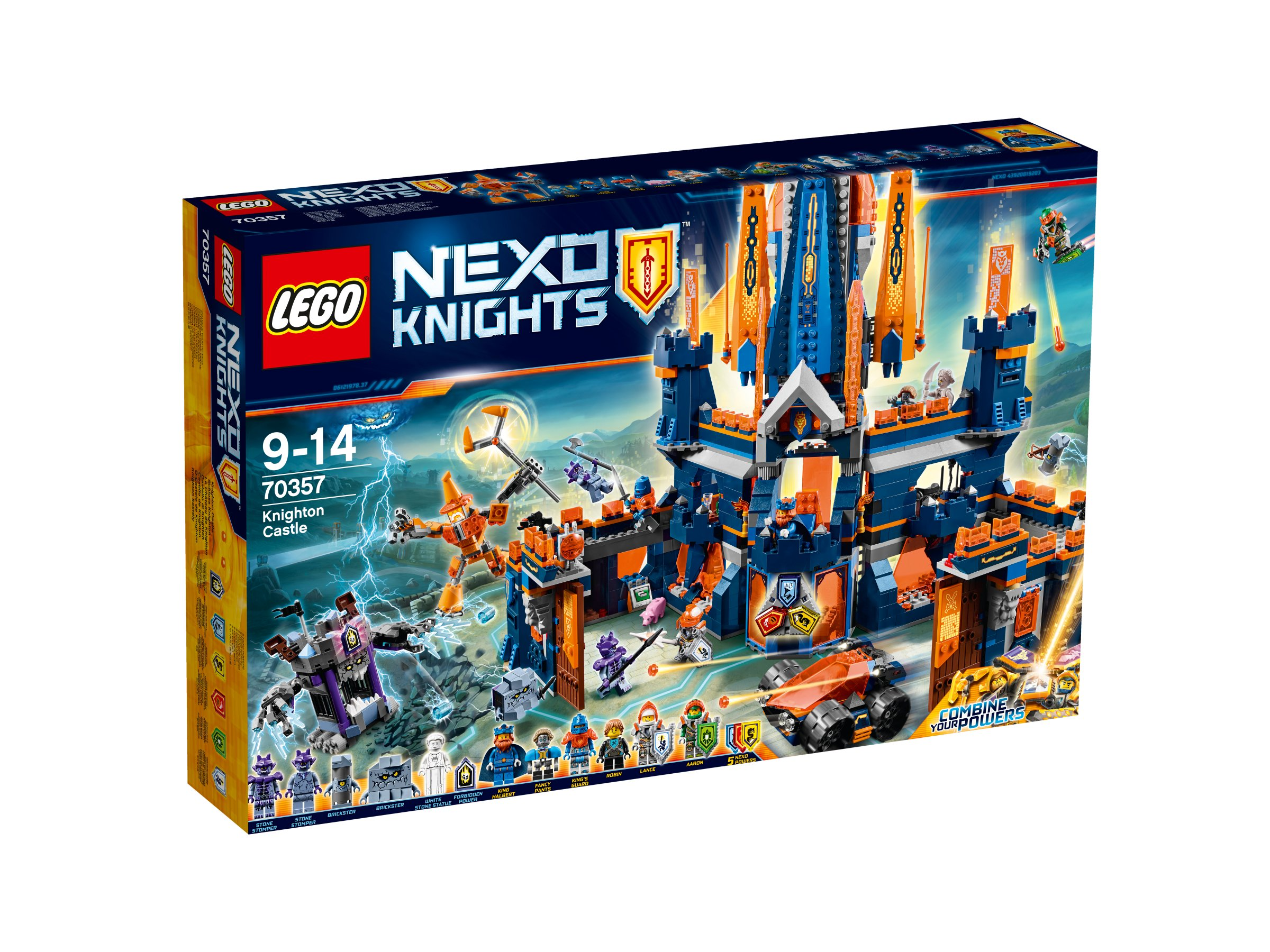 Lego Nexo Knights 70357 Zamek Knighton Promocja 7152066857