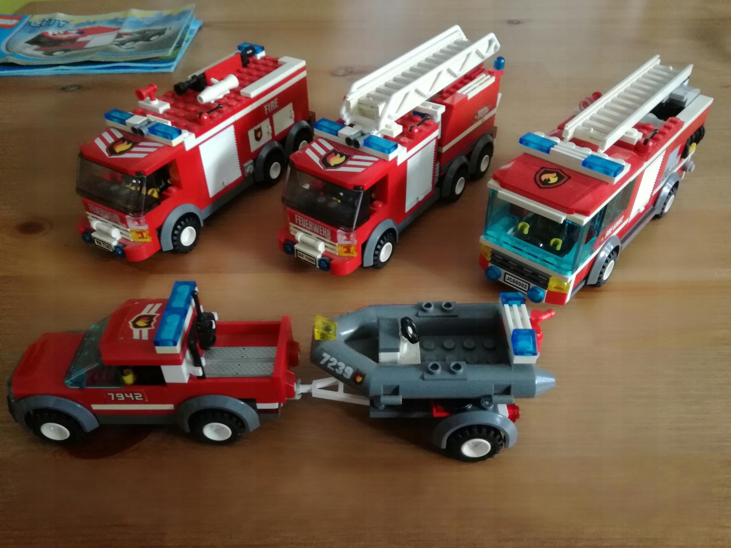 Lego City Straż Pożarna 723979426062 7569199811 Oficjalne