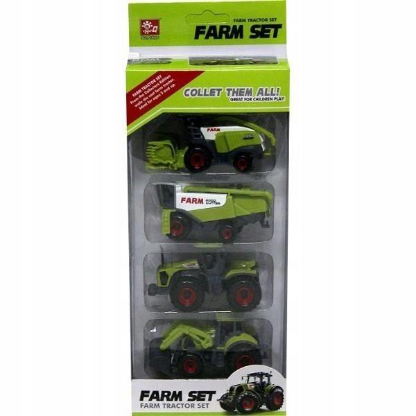 Spielzeugautos Dromader Zestaw maszyn rolniczych w pudełku