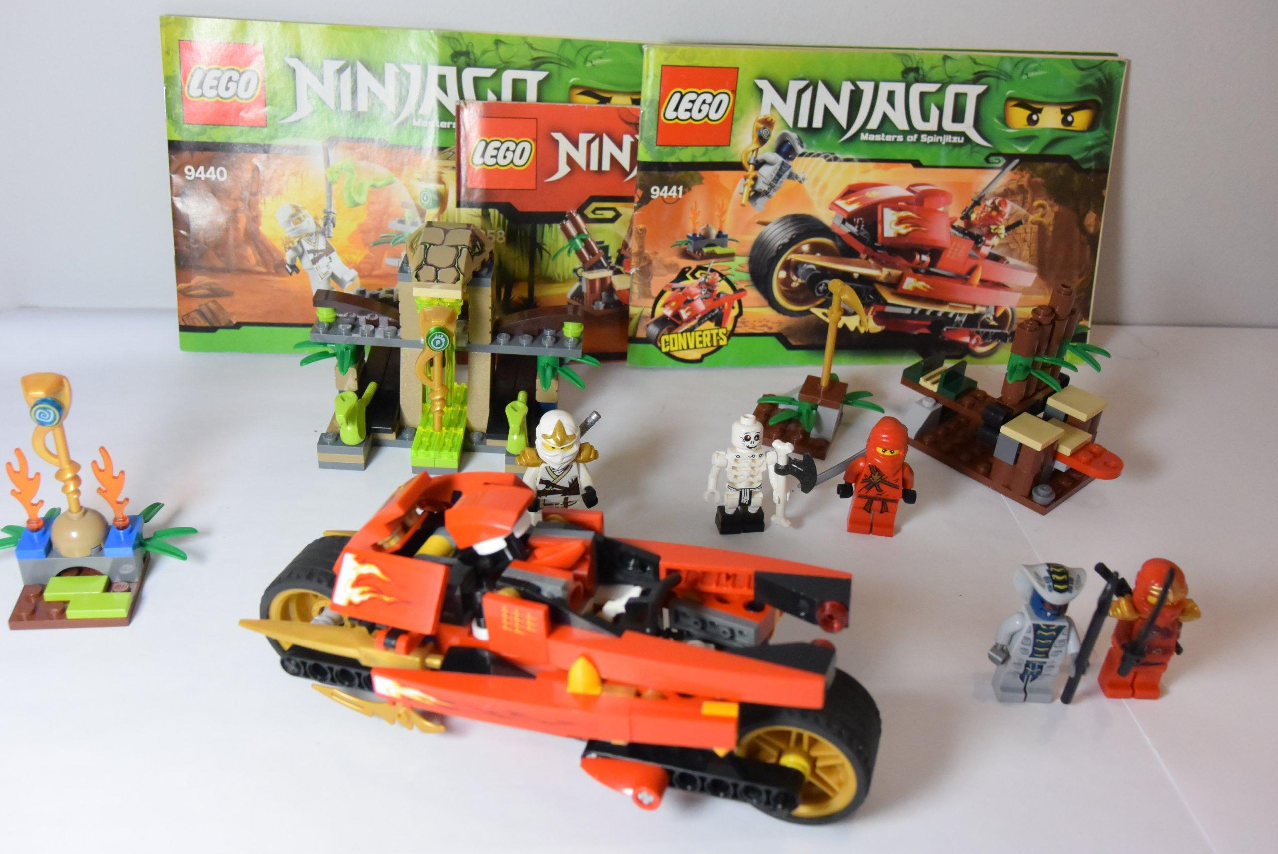 Klocki Lego Ninjago 3szt Mega Zestaw 7253581411 Oficjalne