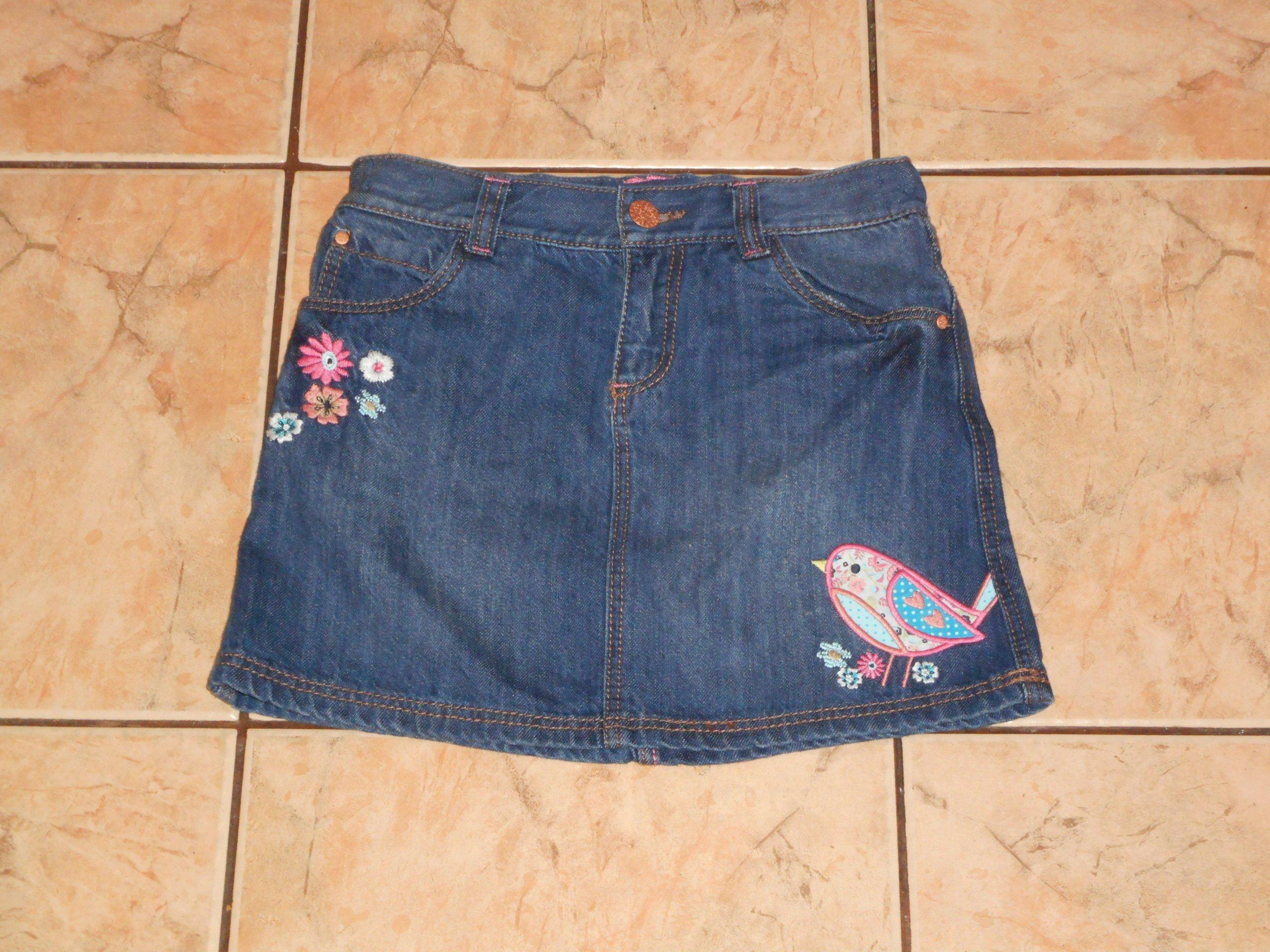 *F&F*jeans SPODNICZKA  rozm 5-6 lat