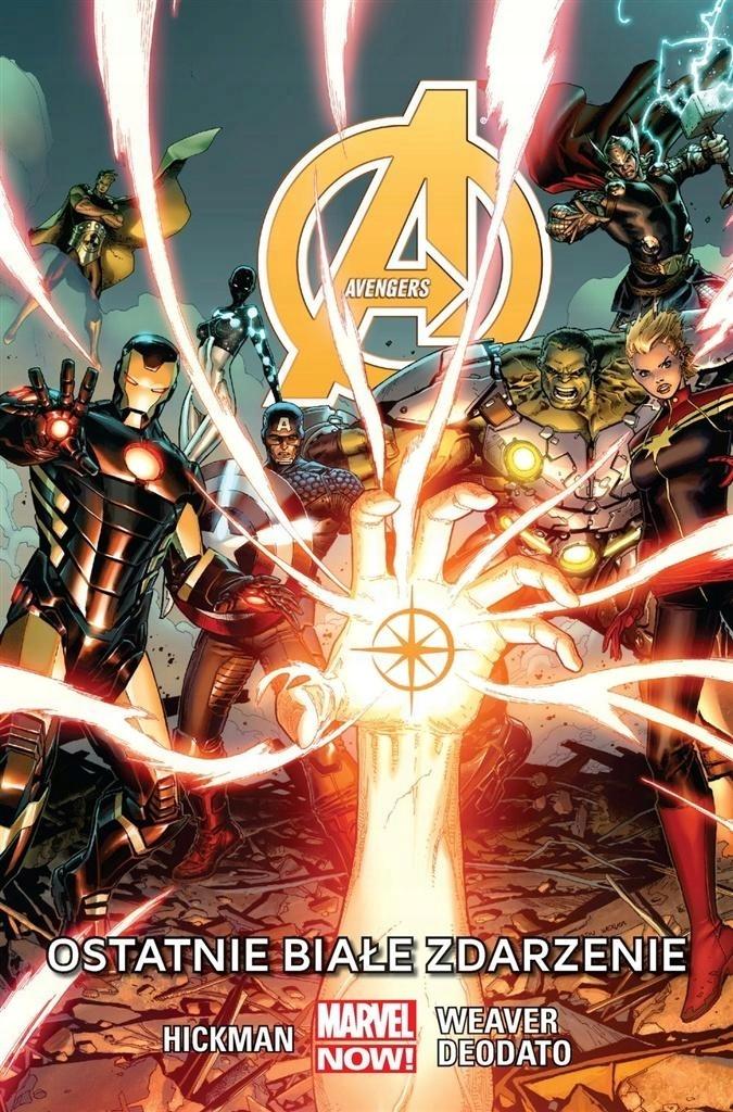 Avengers T 2 Ostatnie białe zdarzenie Hickman
