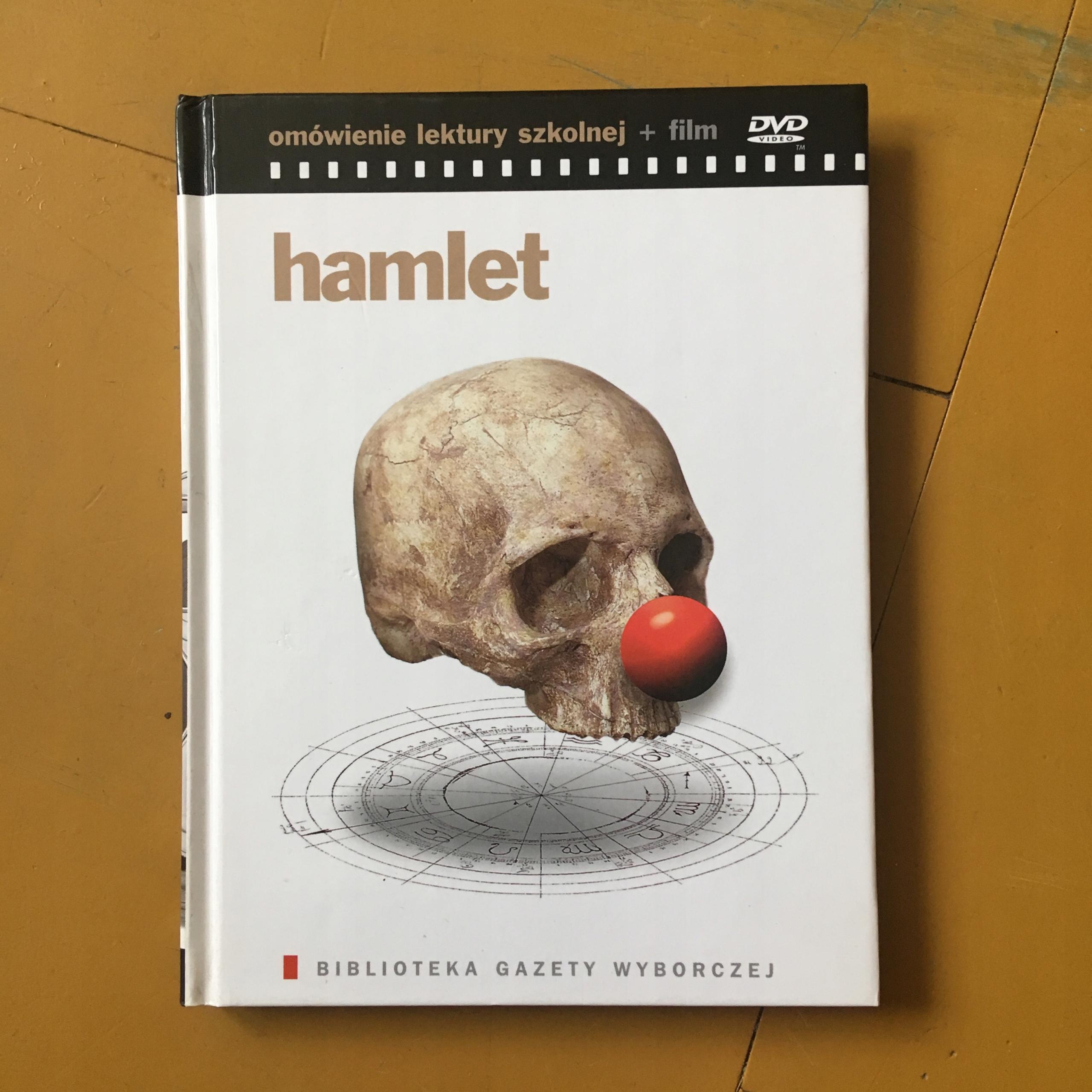 DVD - HAMLET - GAZETA WYBORCZA - BCM $$$