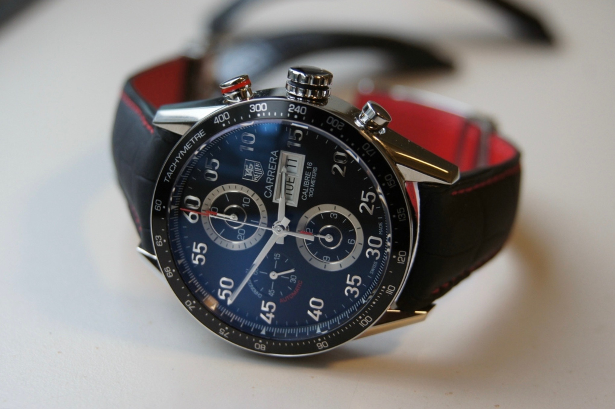 TAG HEUER Carrera Chronograph Day Date
