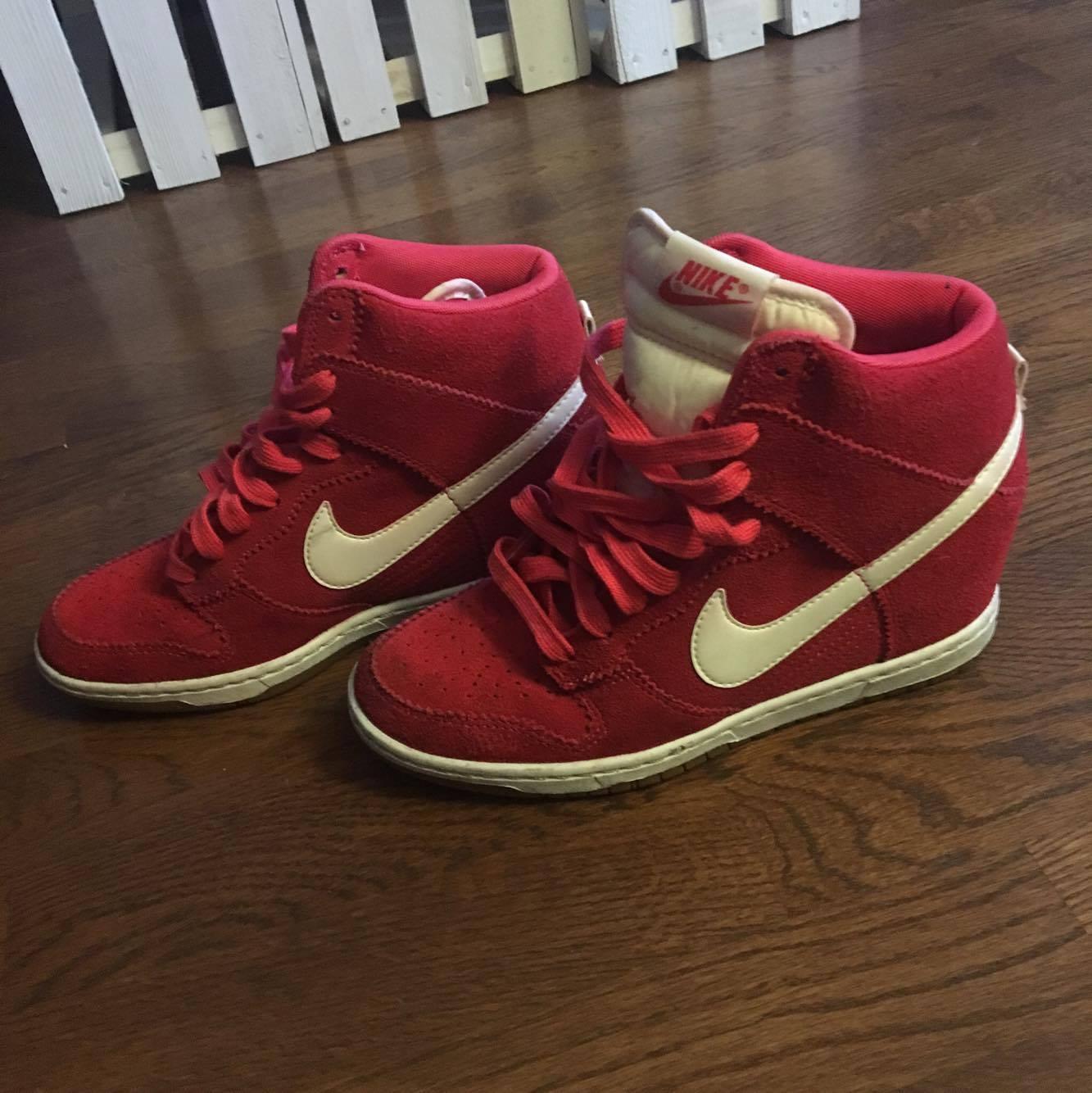 brand new 419bc 7a529 Nike Dunk Sky red czerwone 39 używane