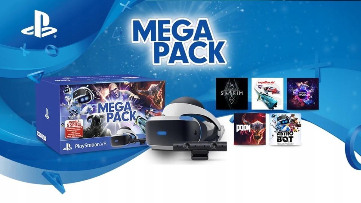PlayStation VR Mega Pack - gogleVRkamera i 5 gie