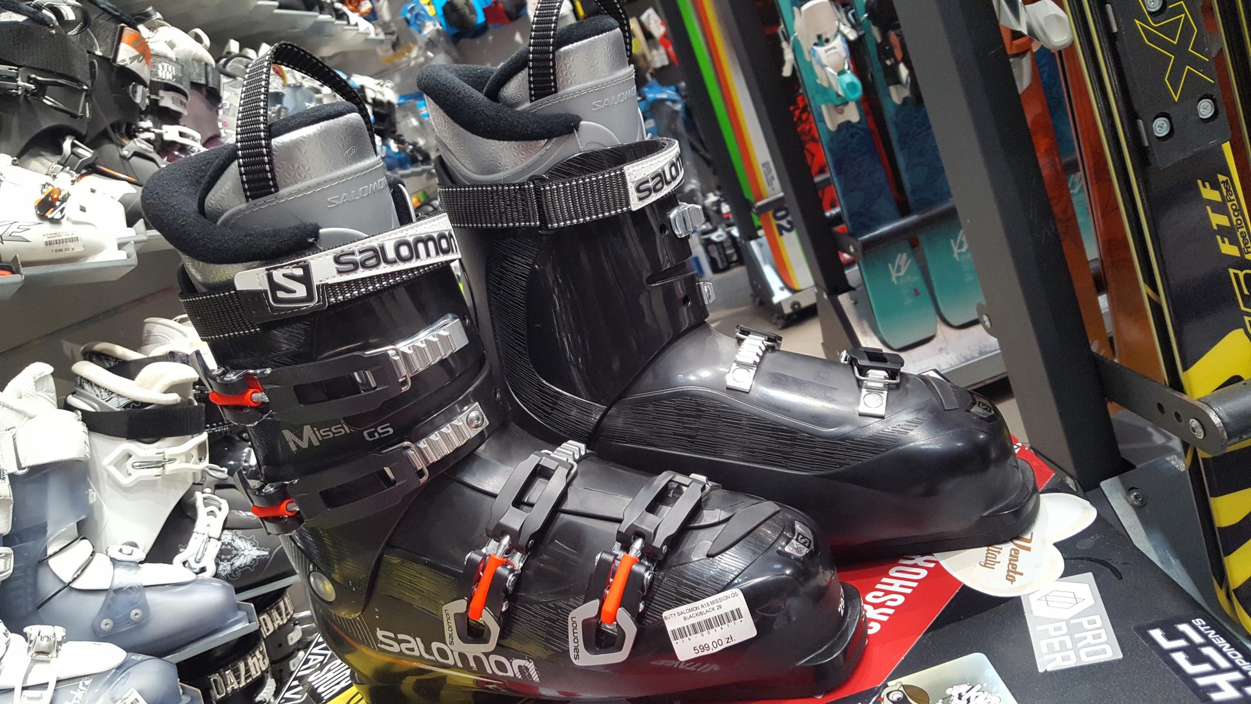 Buty narciarskie Salomon Mission GS 27,5cm Wyprz