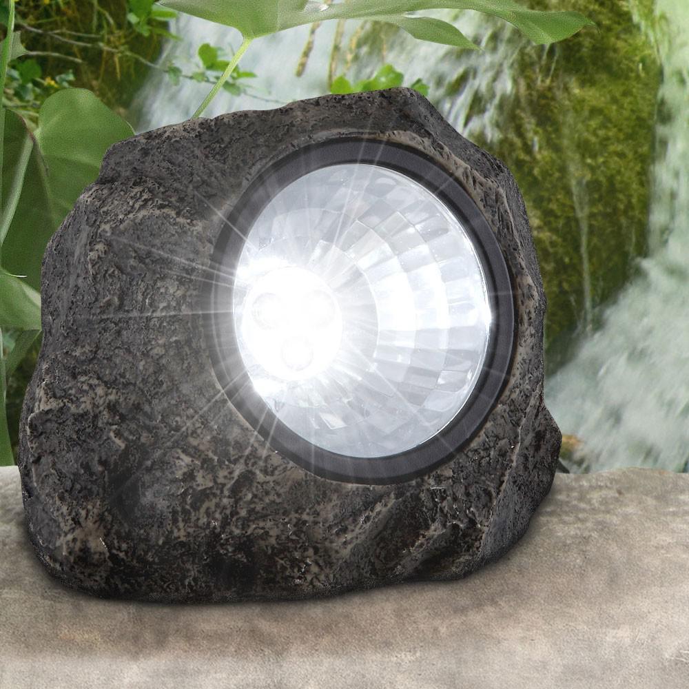 Led Lampa Lampka Solarna Ogrodowa Kamień 7002469471