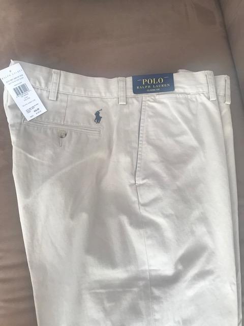 12fda2b4e RALPH LAUREN spodnie męskie CHINOS 40/32 z metkami - 7323302623 ...