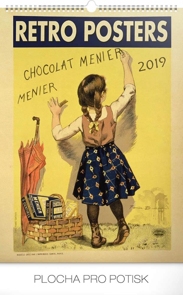 Kalendarz 2019 Plakatowy 33x46 Stare Plakaty