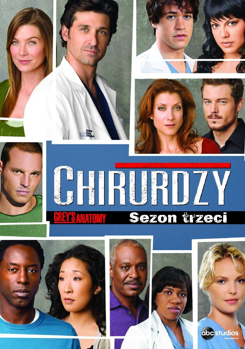 Chirurdzy Sezon 3 DVD