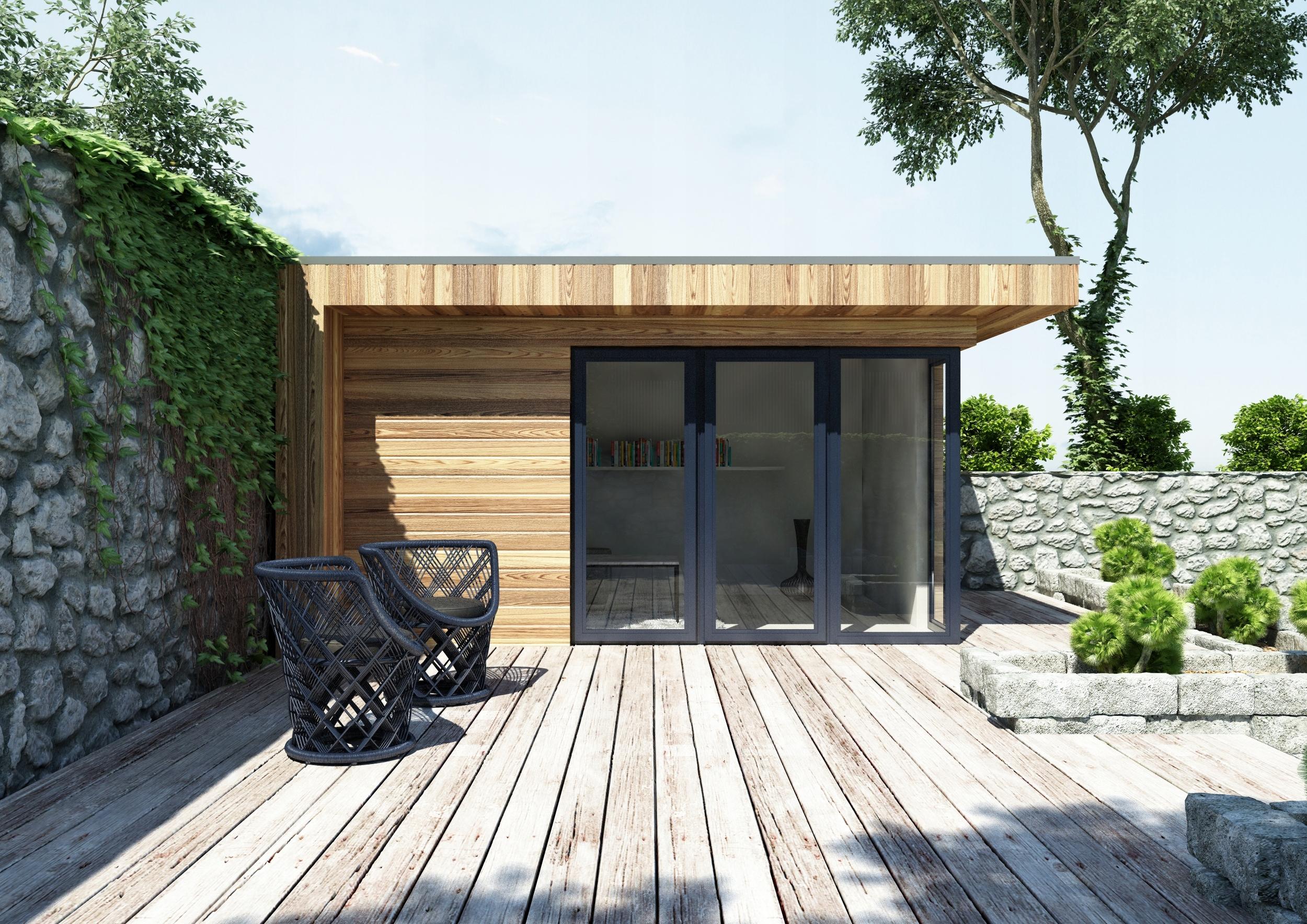 Bardzo dobra PROMOCJA domek letniskowy drewniany ogrodowy biuro - 7526765372 YS57