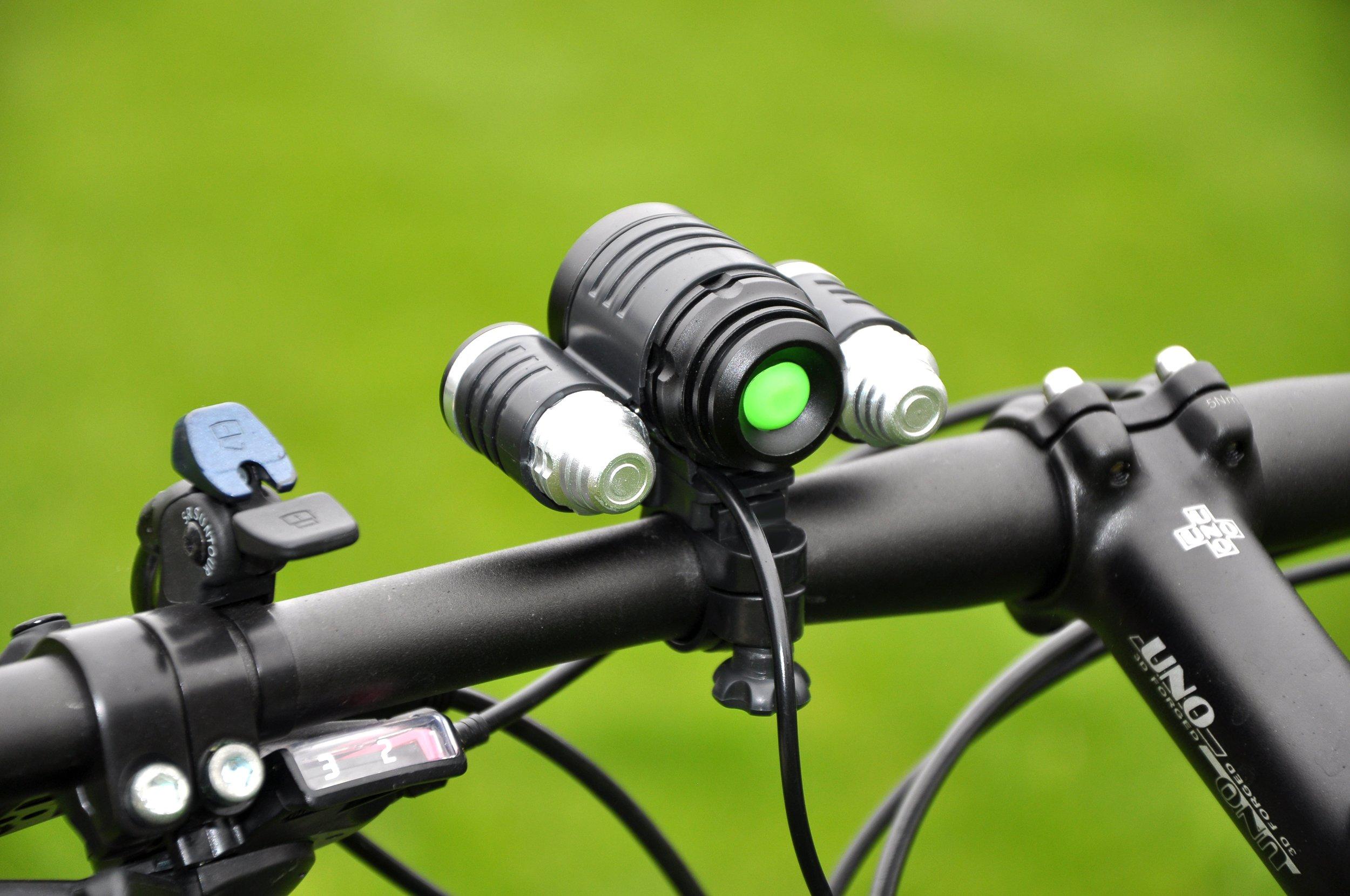 Mocne Oświetlenie Rowerowe Do Roweru Zasięg 1100m