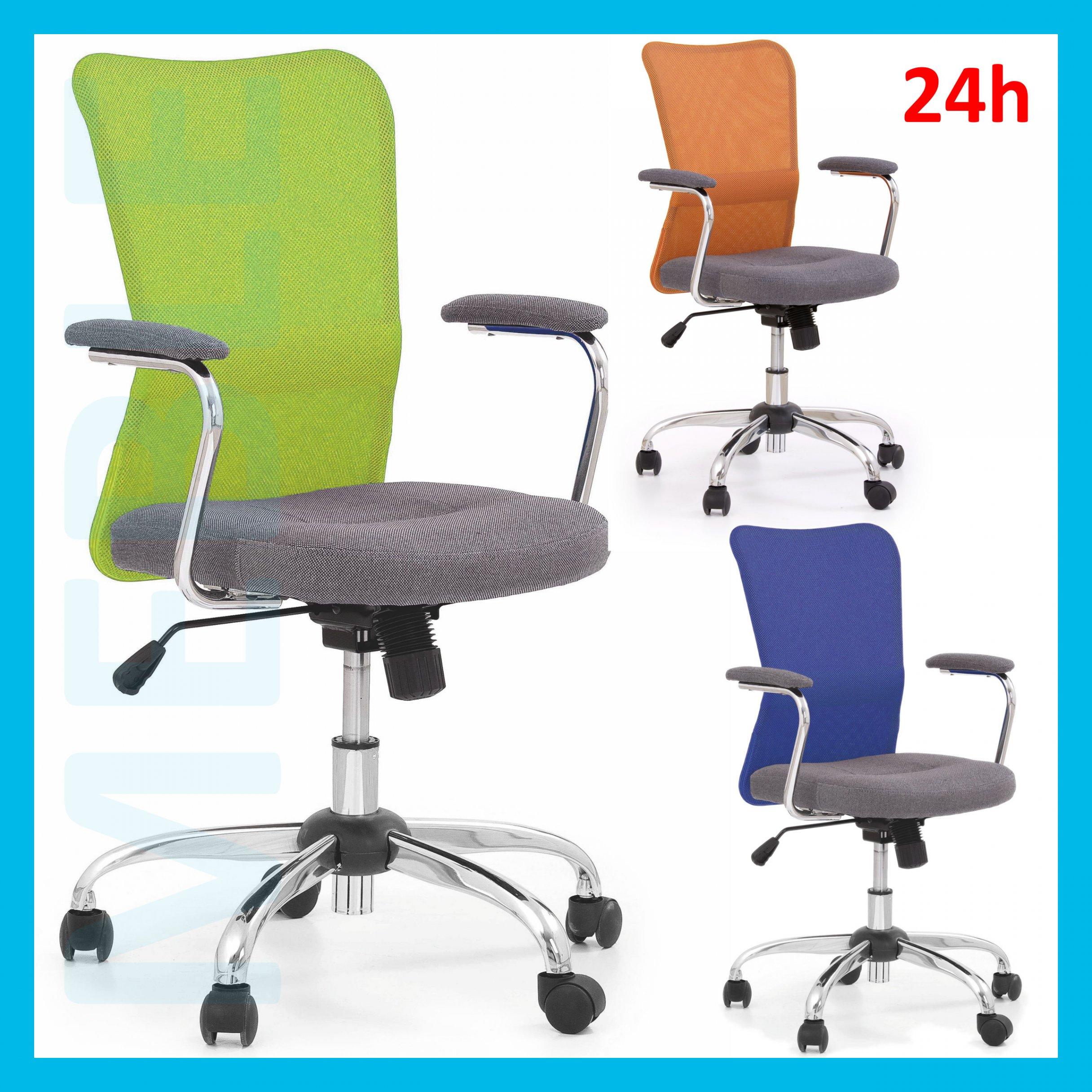 Krzesło Biurowe Obrotowe Andy Młodzieżowe 24h 6745526522