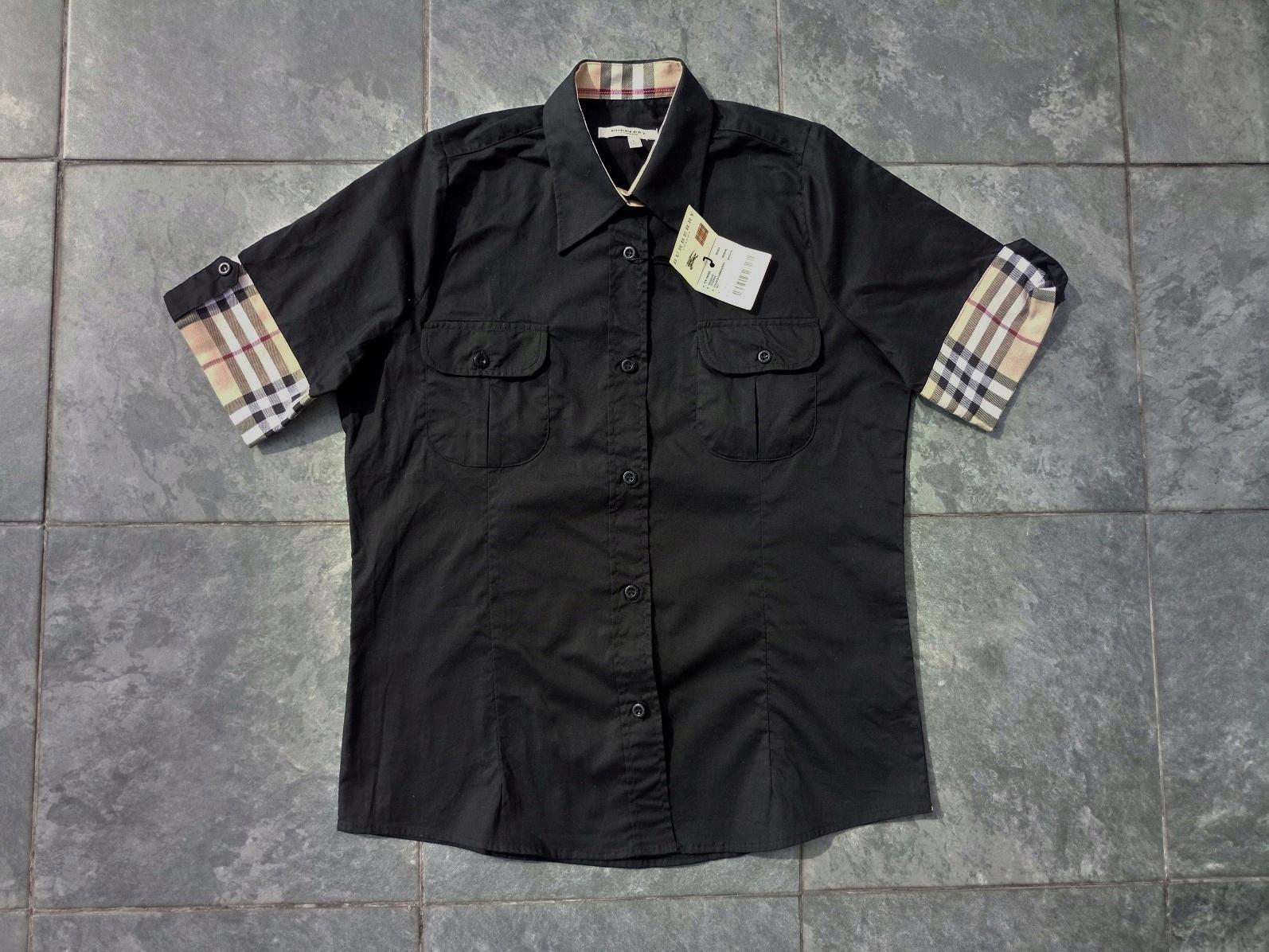 c9ab82ad4 burberry koszula BLUZKA damska rozm 38 M - 7538134768 - oficjalne ...
