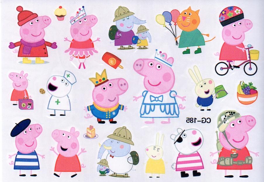 Tatuaże Zmywalne Dla Dzieci świnka Peppa 185 7451566760