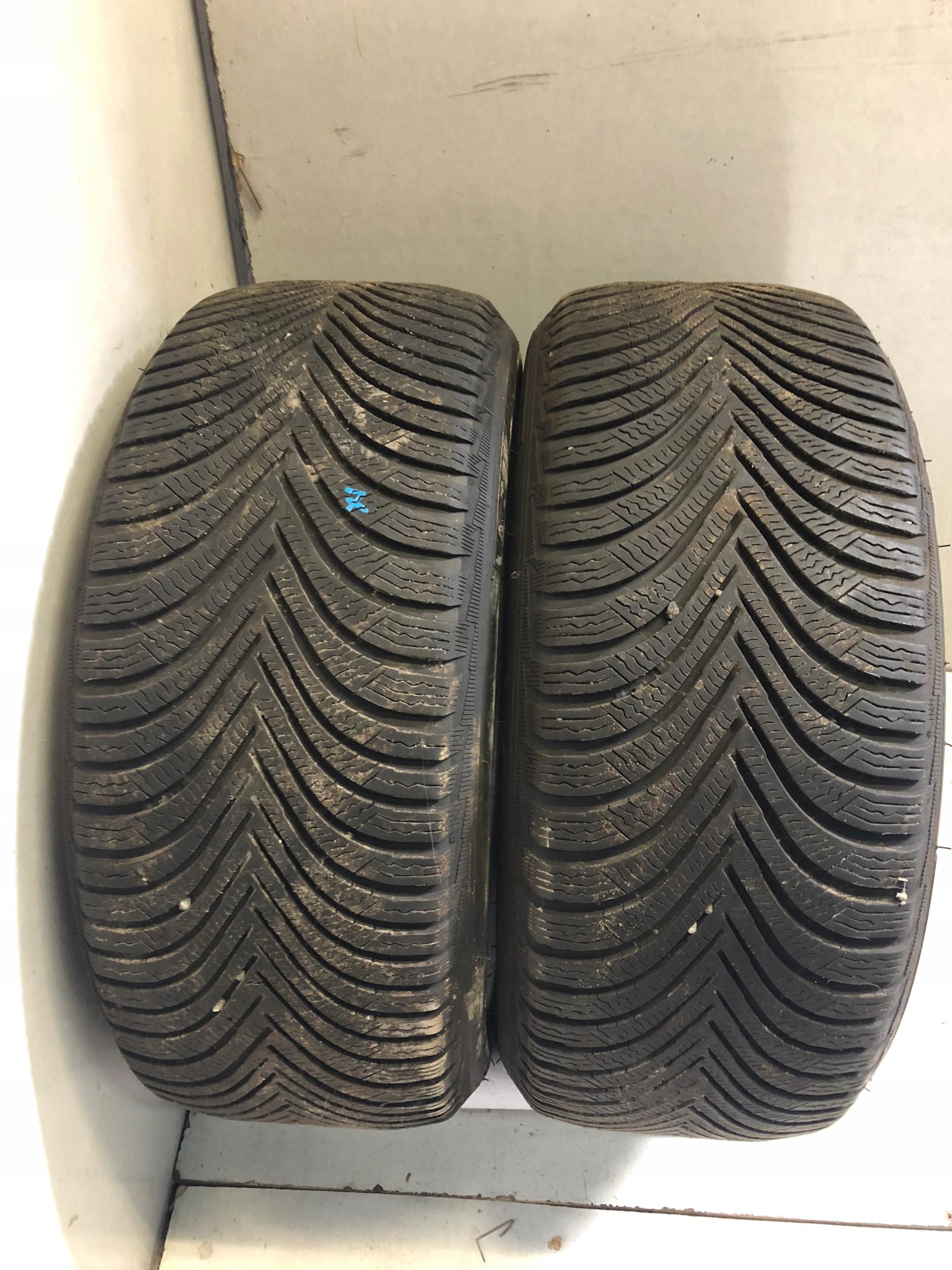 2 Opony Zimowe Michelin Alpin 5 2244517 7mm 7681102654