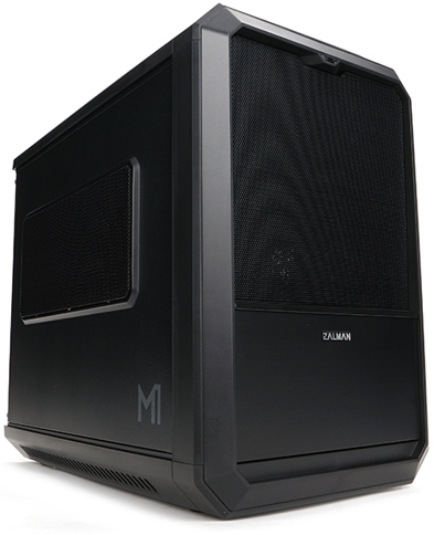OBUDOWA MINI ITX MITX ZALMAN M1 HOT SWAP WENT. LED