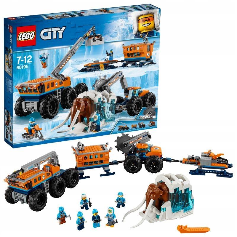 Lego 60195 City Arktyczna Baza Mobilna 7527331543 Oficjalne