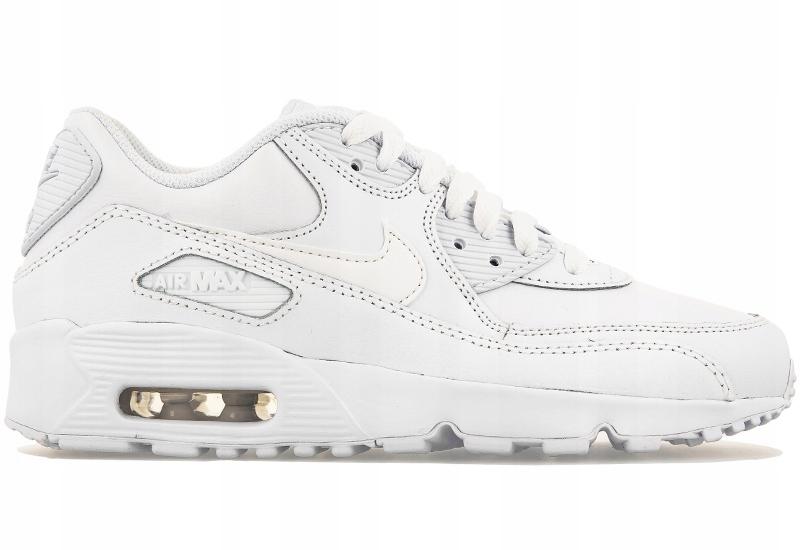 przyjazd ładne buty odebrane Buty Nike Air Max 90 Leather 833412-100 R 35,5 - 7451779349 ...