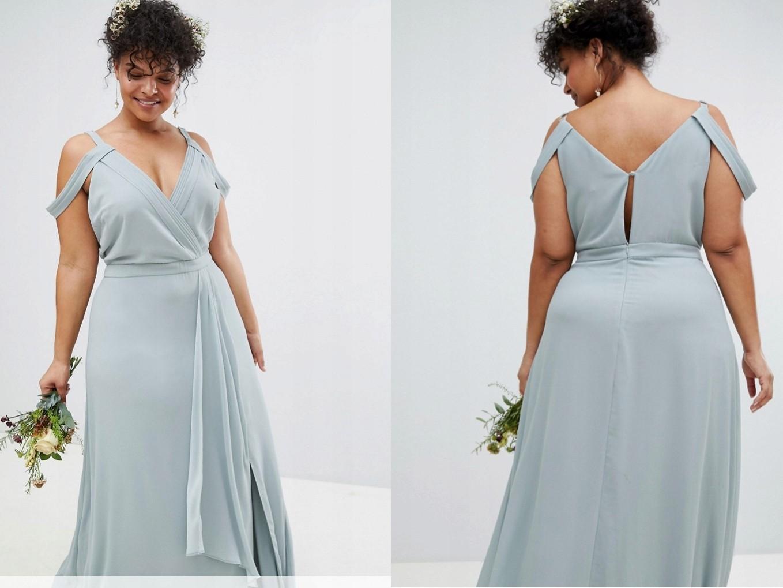d252278582d830 TFNC Sukienka Odkryte Ramiona Maxi M/38 - 7423040335 - oficjalne ...