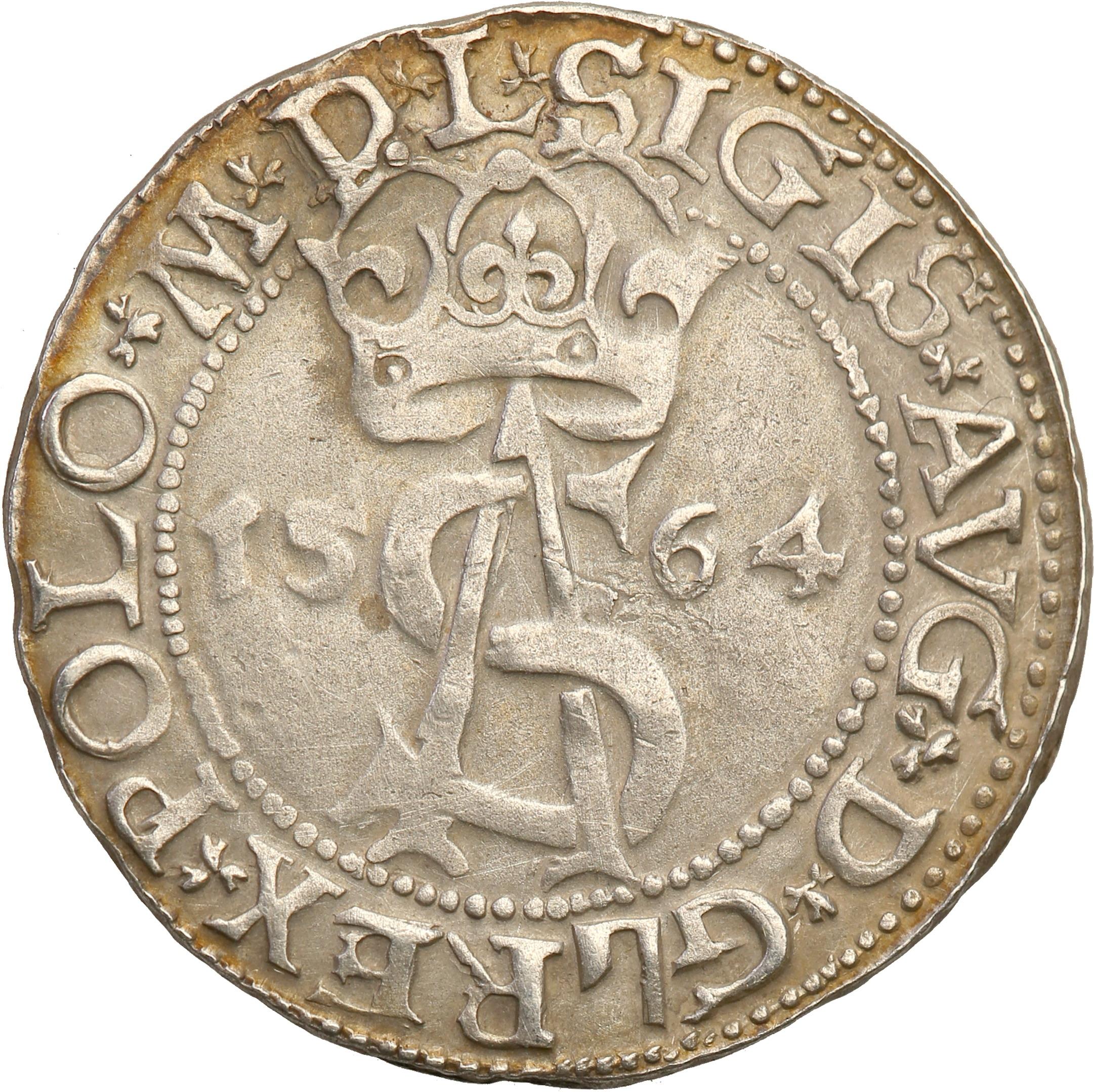 Zygmunt II August trojak (3 grosze) 1564 Wilno st3
