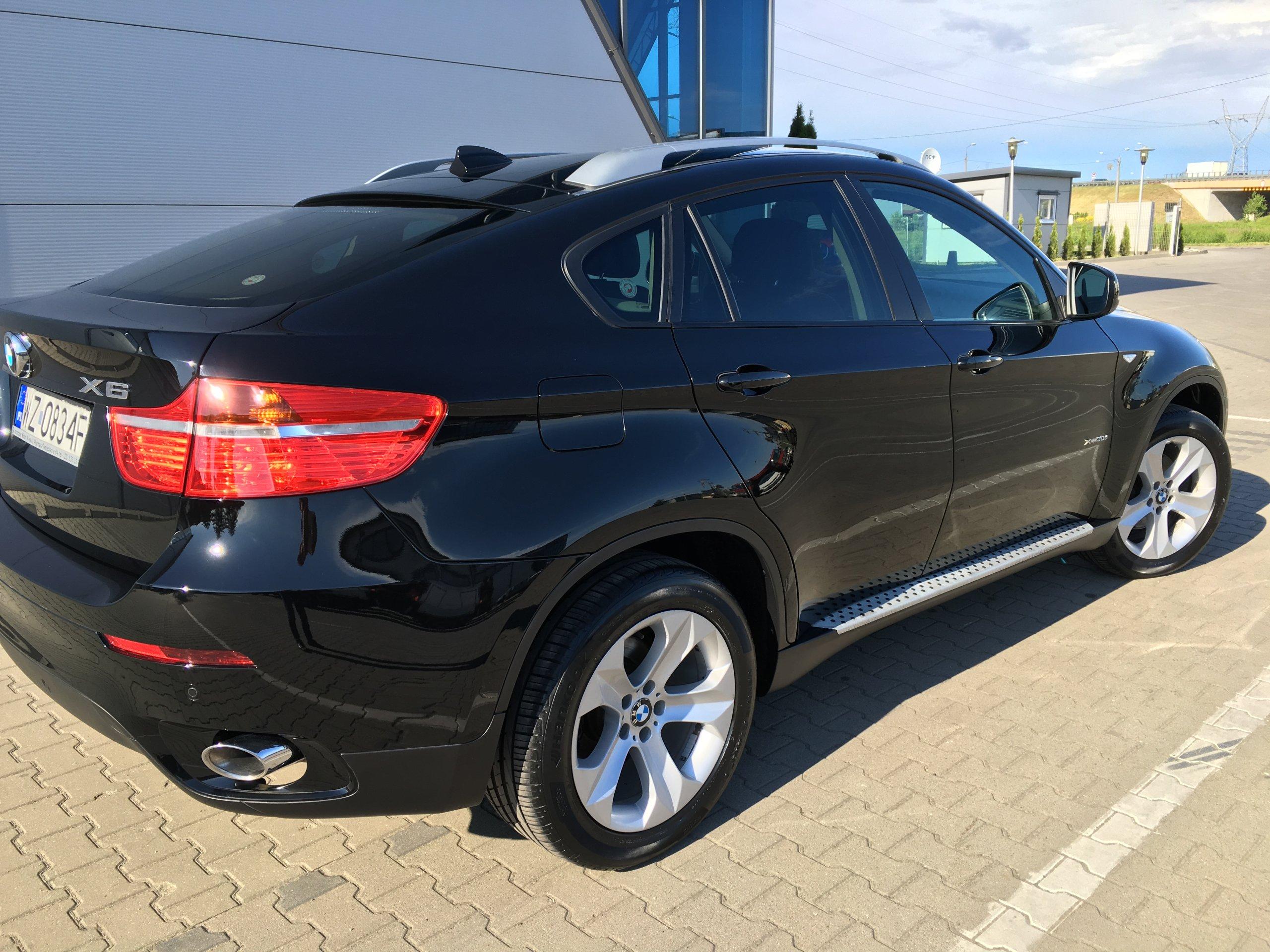 BMW X6 3 0d 5 os 2011r Warszawa oficjalne
