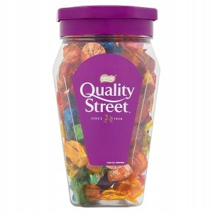 Nestle Quality Street - Słój 600g - Cukierki Mix
