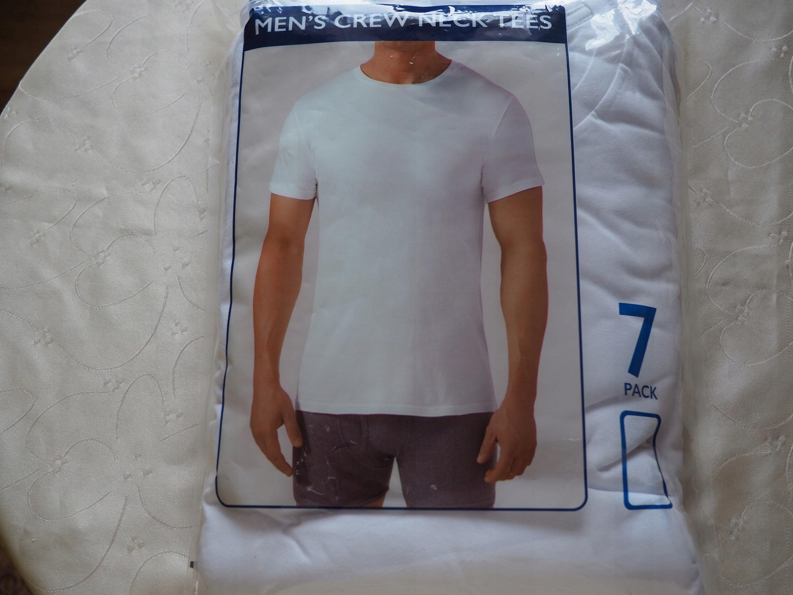8dcc00a47b92 Basic Editions Men's T-Shirts ROZM.M 7-PACK - 7529988879 - oficjalne ...
