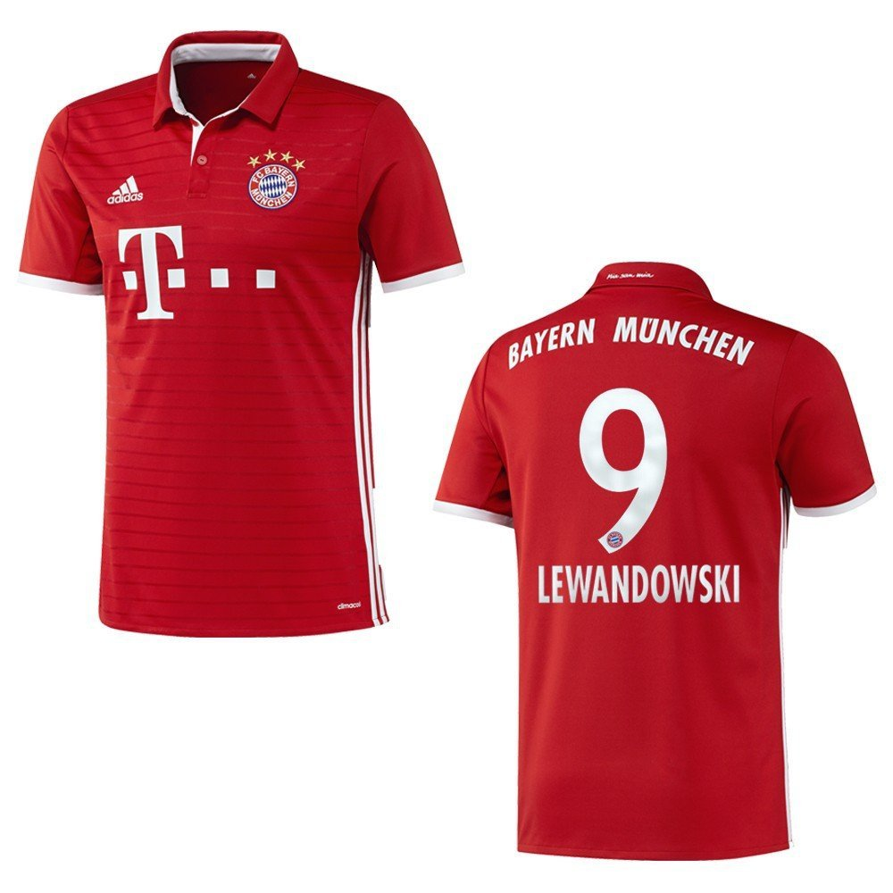 7570ac30f Koszulka dziecięca FC Bayern 2016/17 Lewandowski - 7285673134 ...
