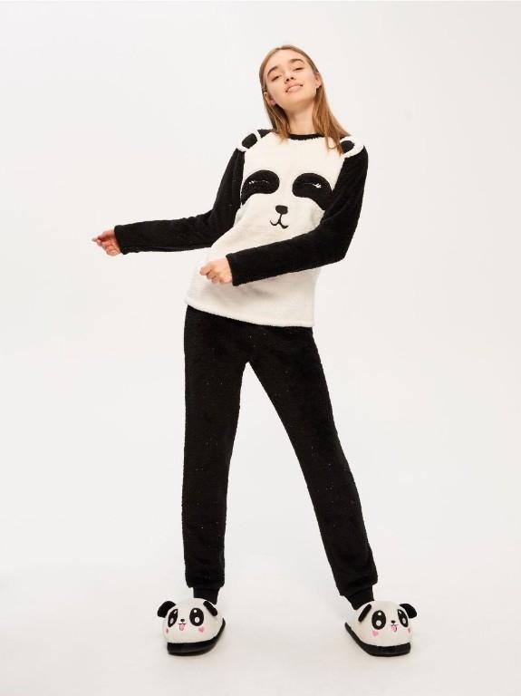8ab617494ca80b piżama sinsay M/L/XL pluszowa PANDA - 7763366732 - oficjalne ...