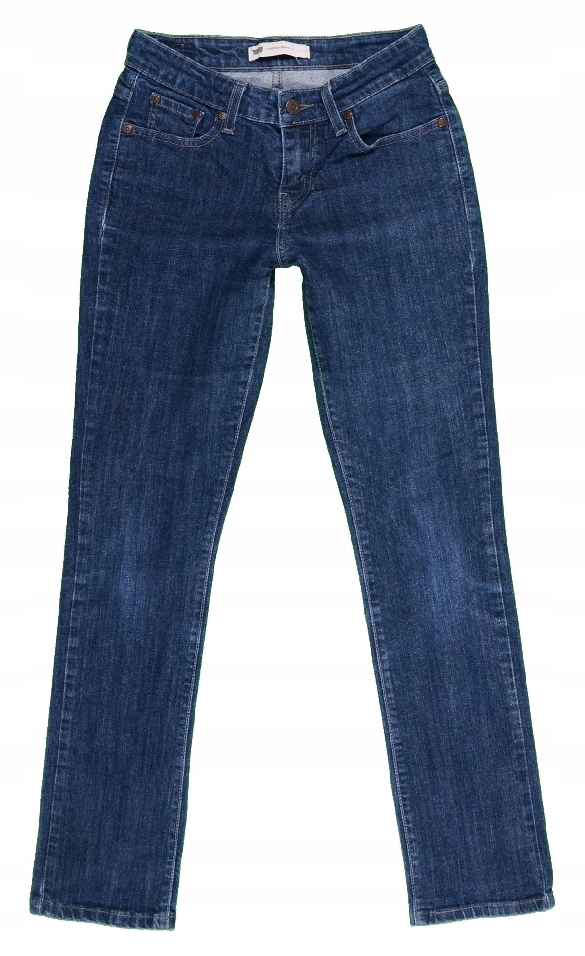 5e02042e LEVI'S jeansy damskie MID RISE SKINNY r. 36 MISIZM - 7544549898 ...