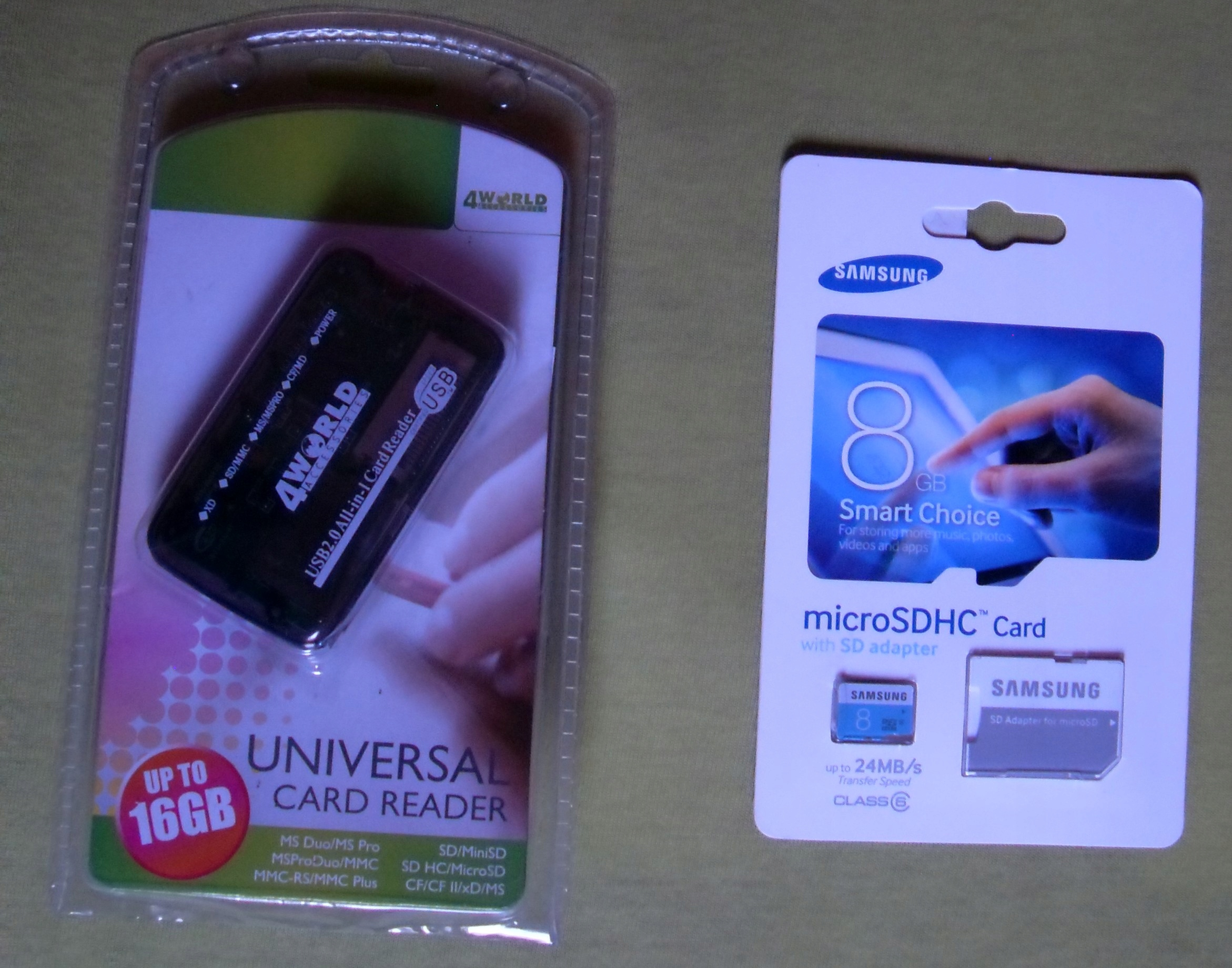 Karta Pamieci Samsung 24mb S Adapter Czytnik 7609479584
