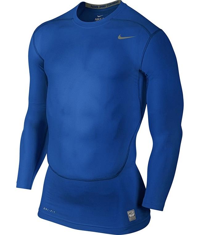 NIKE PRO COMBAT XL 158 170cm bluza piłkarska termoaktywna